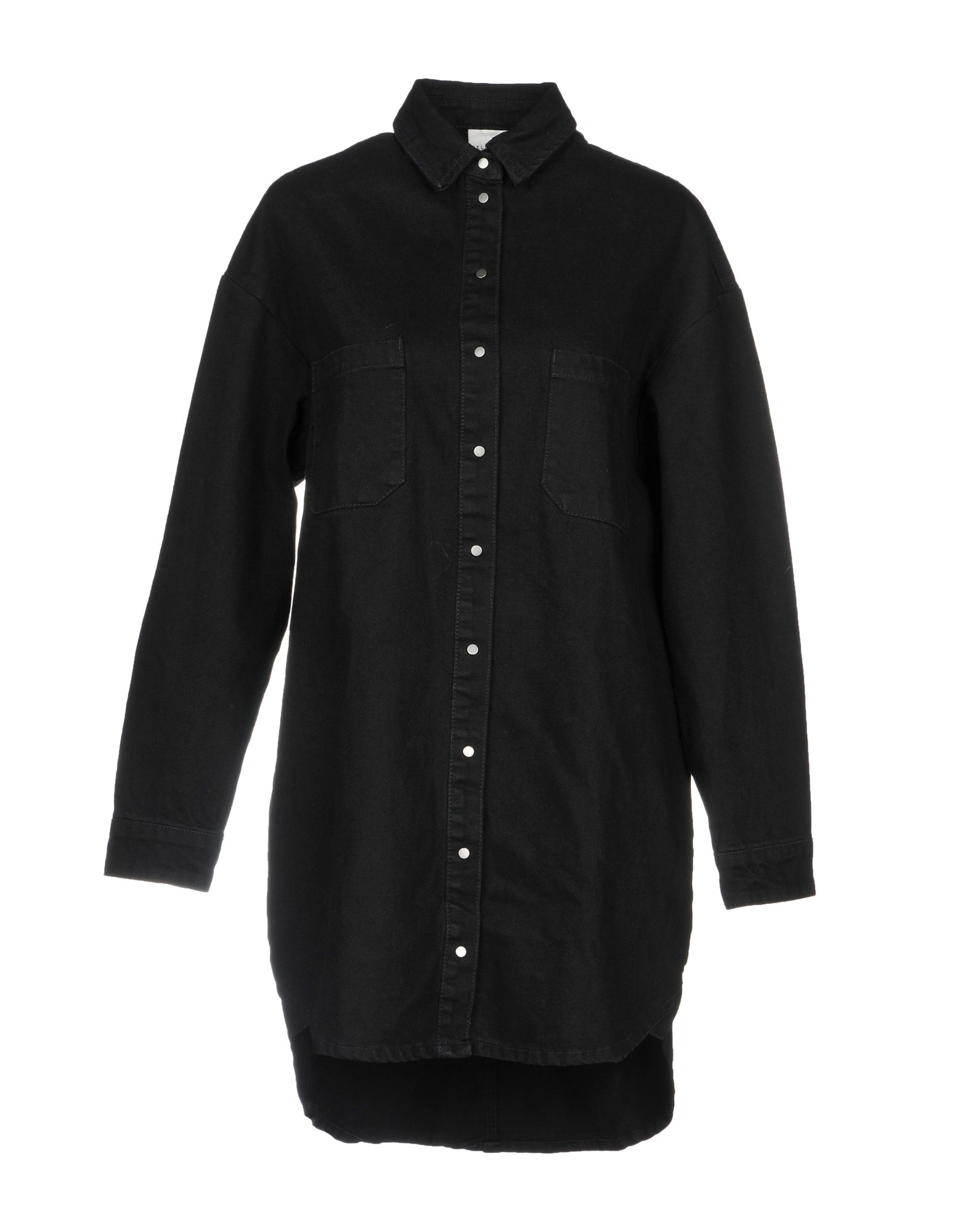 SELECTED FEMME Джинсовая рубашка рубашка женская selected femme цвет молочный 16052017 размер 40 46