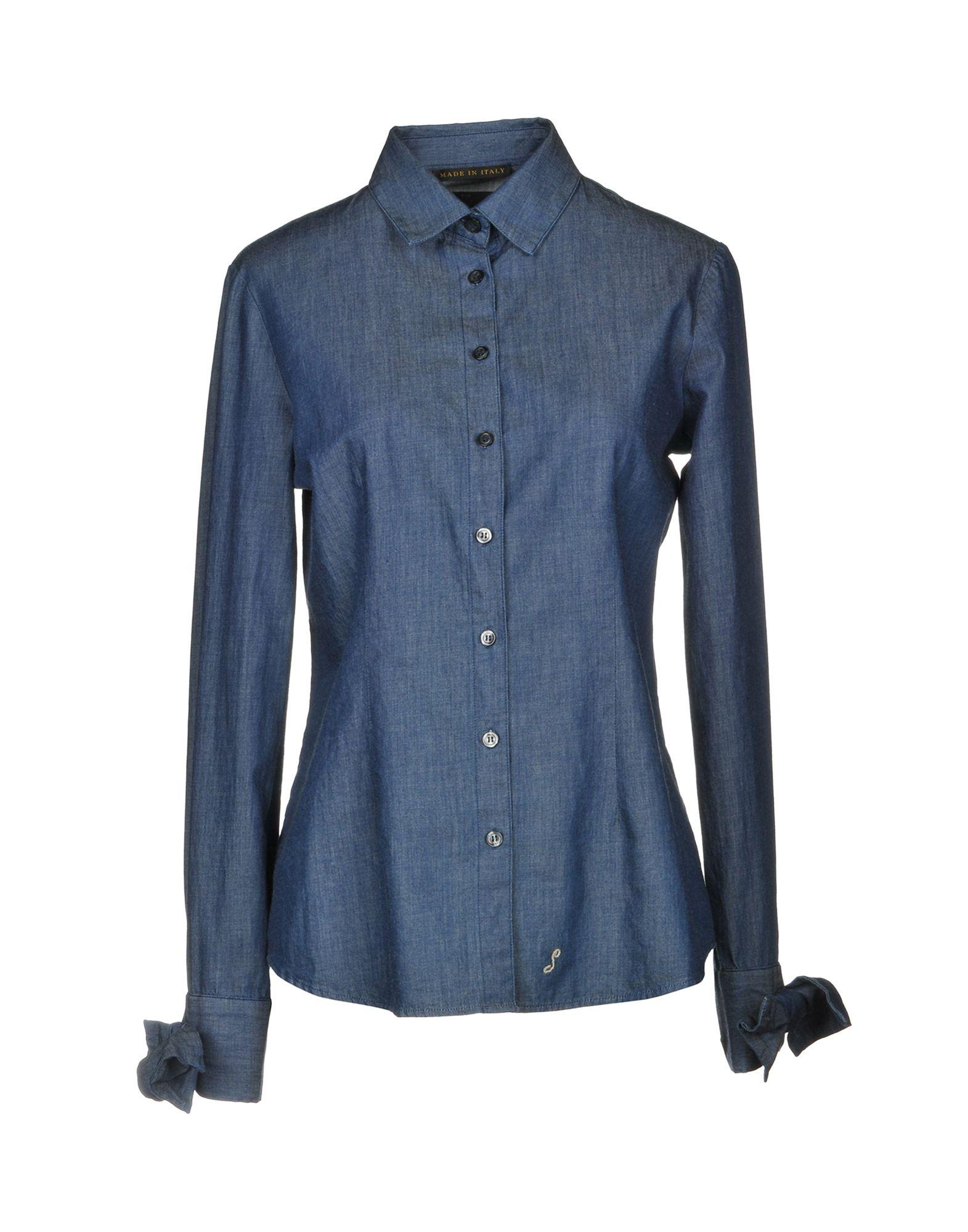 THE SEAFARER Джинсовая рубашка the seafarer блузка