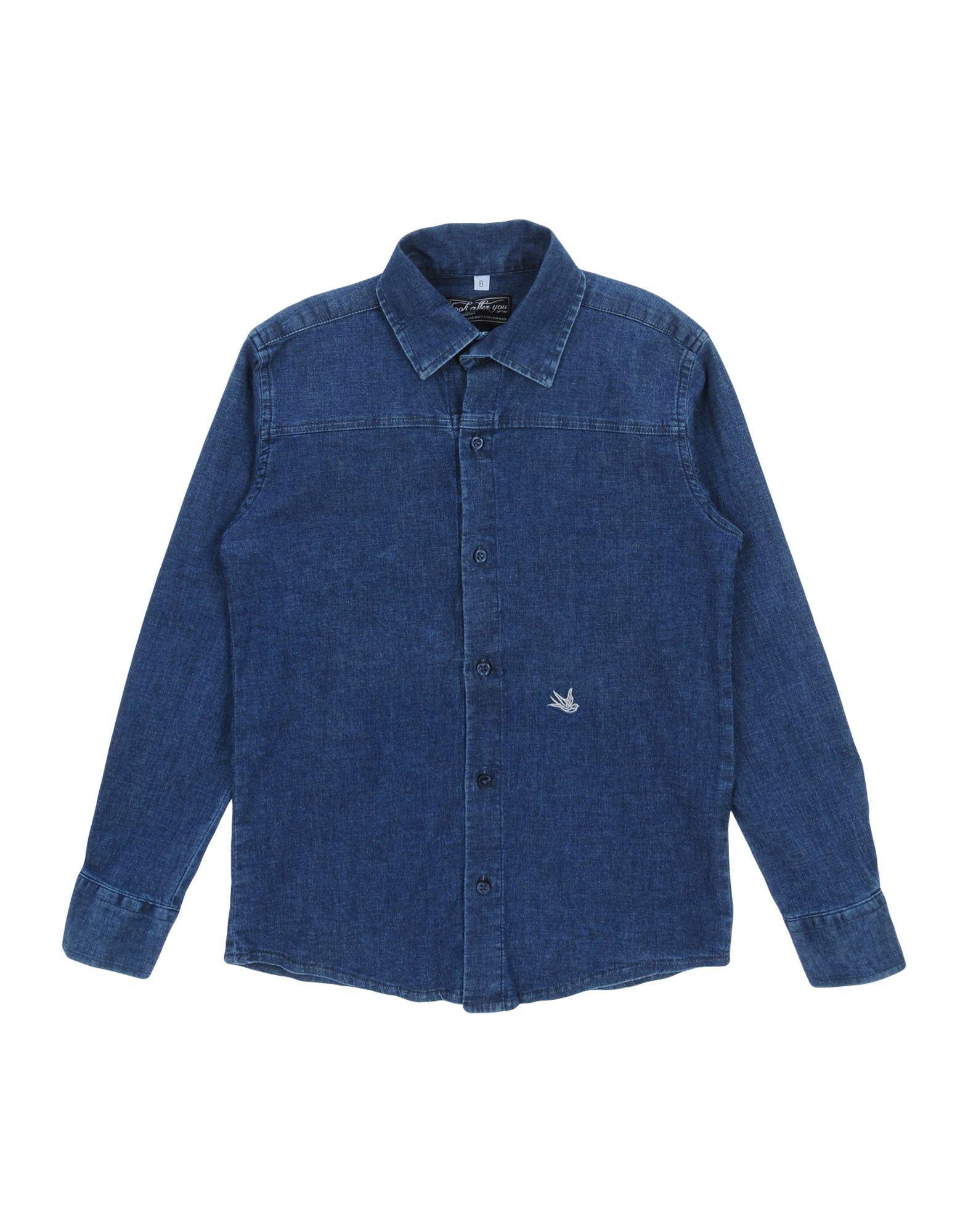 LOOK AFTER YOU Джинсовая рубашка look after you повседневные брюки