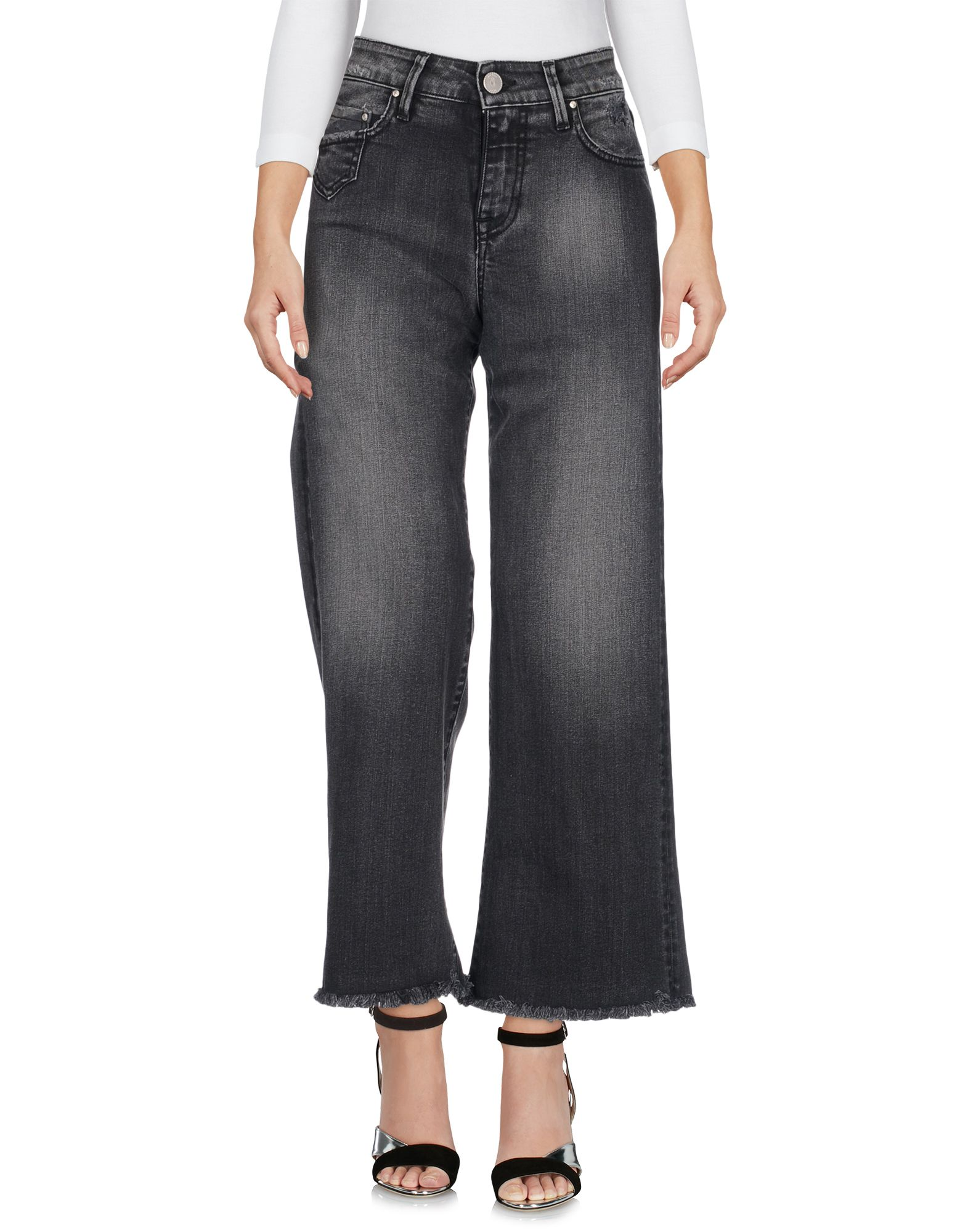 DON'T CRY Denim Pants in Grey