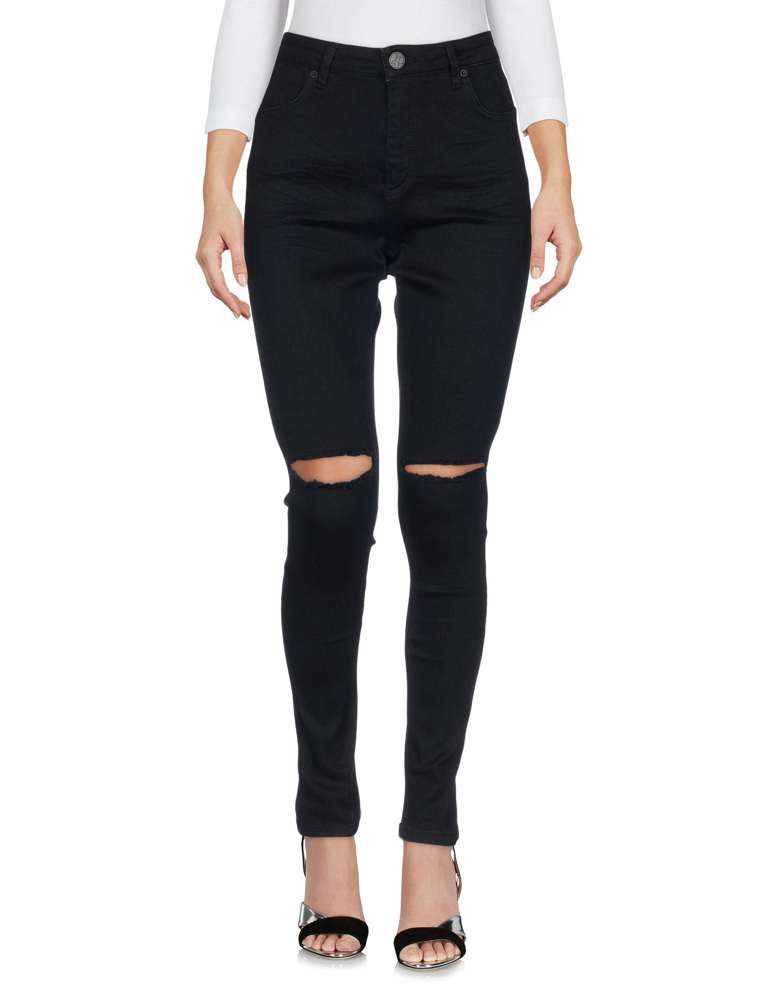 2ND ONE Damen Jeanshose Farbe Schwarz Größe 4