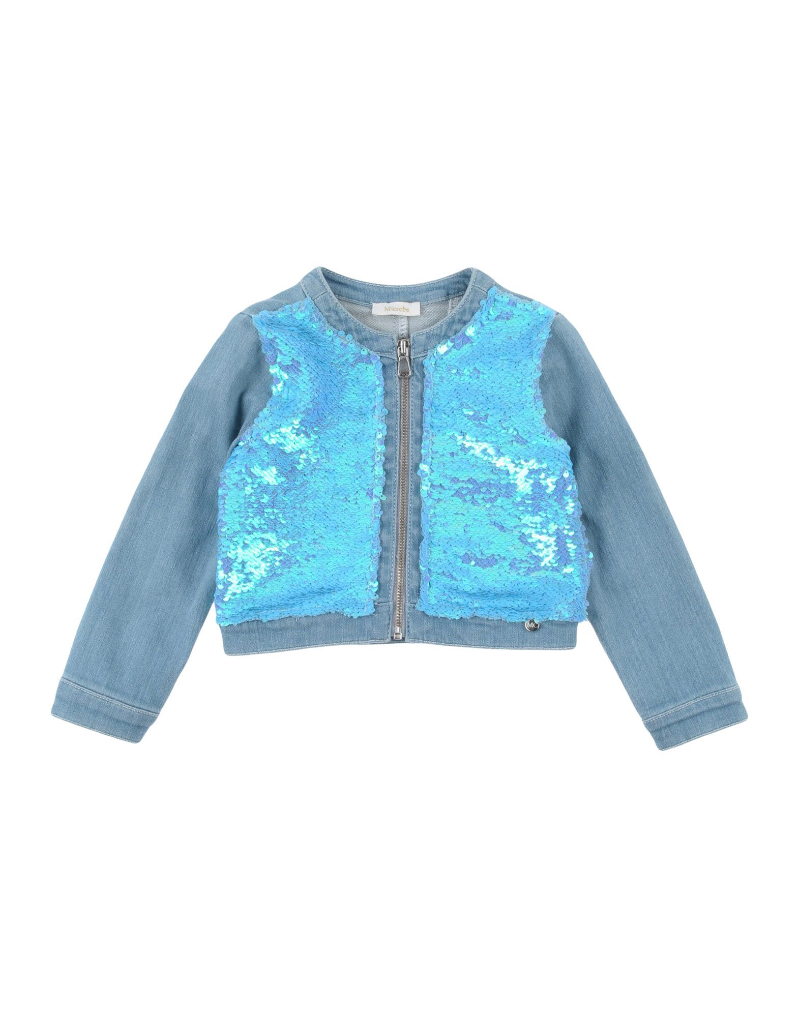 Фото - MICROBE by MISS GRANT Джинсовая верхняя одежда microbe by miss grant джинсовая верхняя одежда