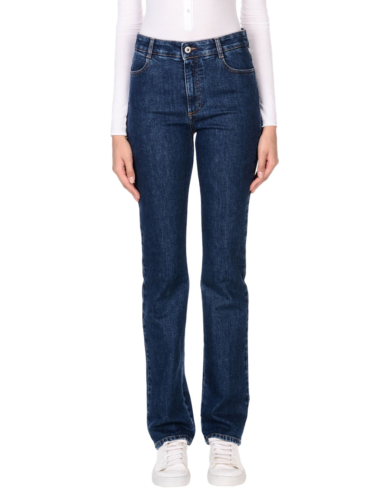 STELLA McCARTNEY Denim pants - Item 42681103