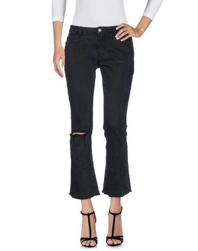 Фото - Джинсовые брюки от NINE:INTHE:MORNING черного цвета