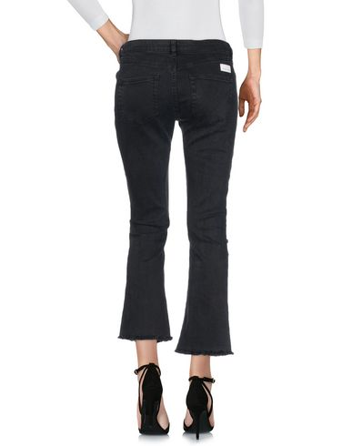 Фото 2 - Джинсовые брюки от NINE:INTHE:MORNING черного цвета