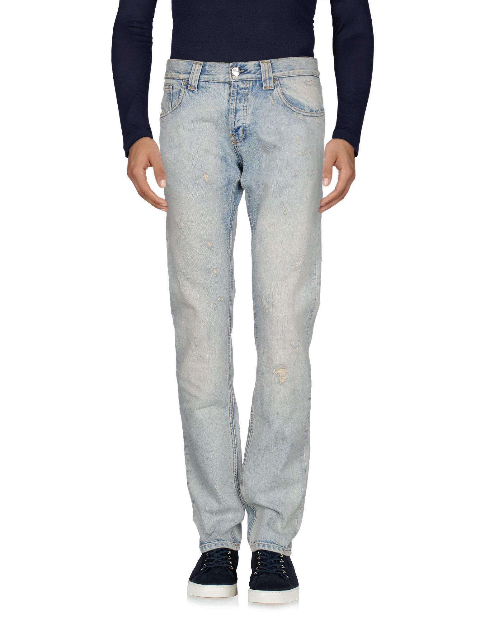 BLUMARINE UOMO Джинсовые брюки blumarine uomo pубашка