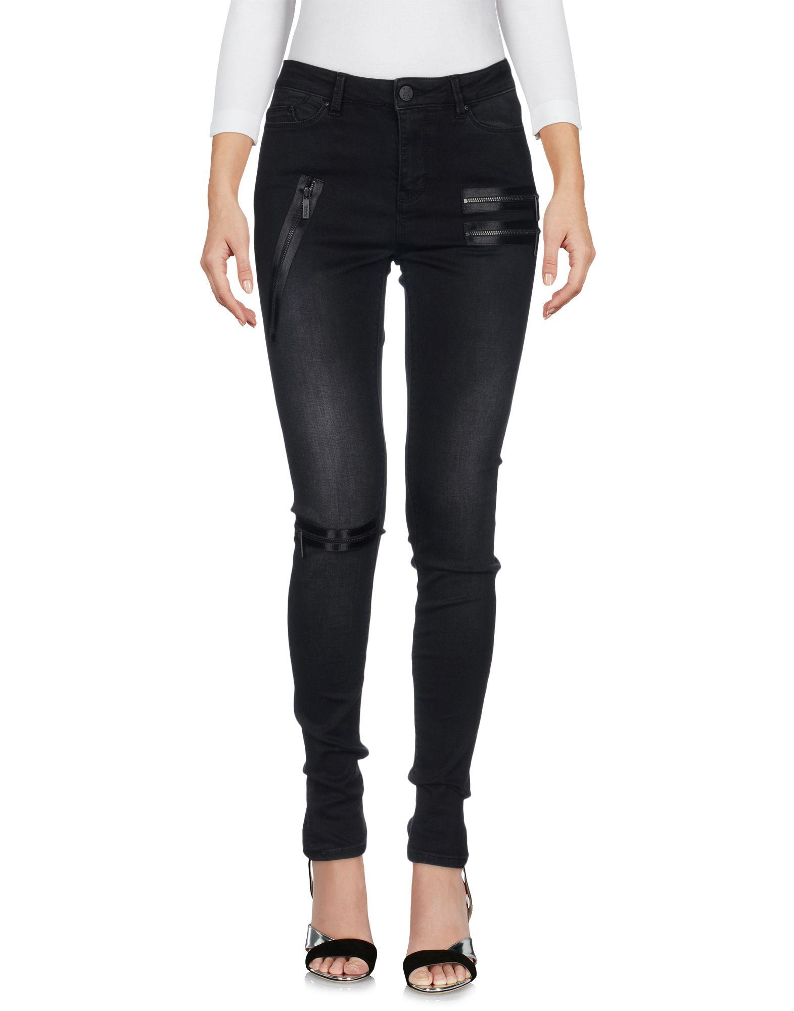 KARL LAGERFELD Джинсовые брюки lagerfeld gallery by diesel джинсовые брюки
