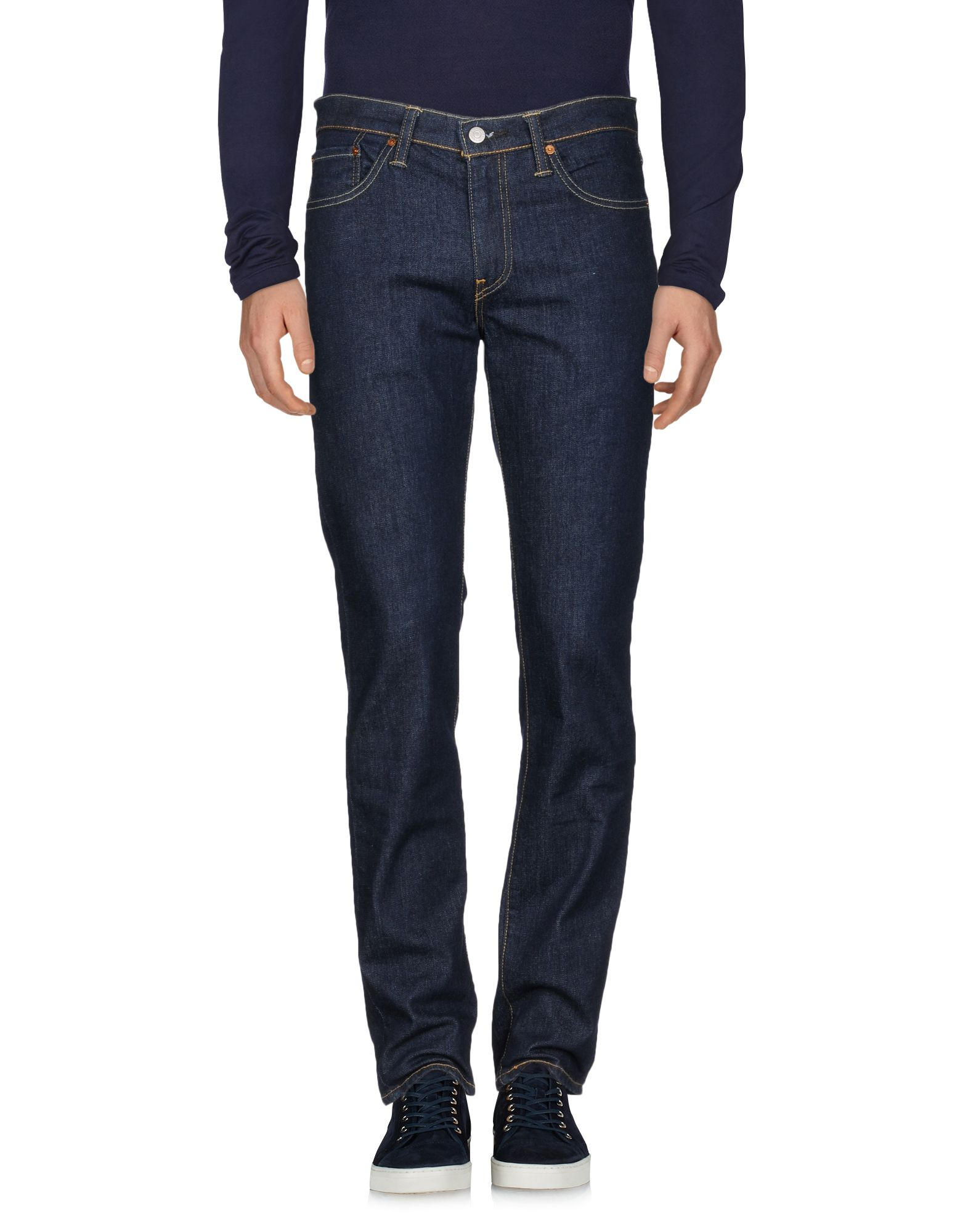 LEVI'S RED TAB Джинсовые брюки slim fit destroyed zipper fly straight jeans