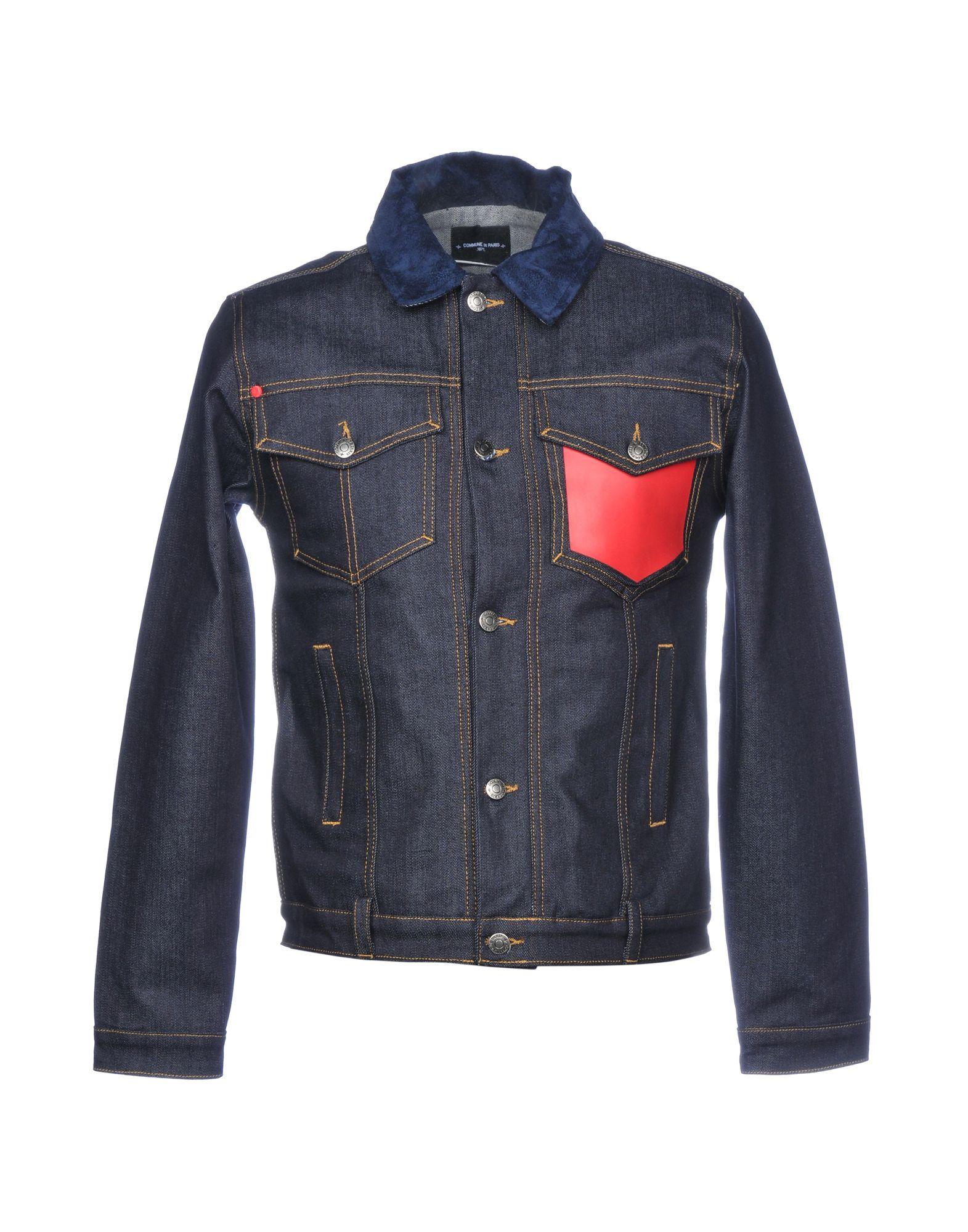 COMMUNE DE PARIS 1871 Джинсовая верхняя одежда commune de paris 1871 dimanches джинсовая рубашка
