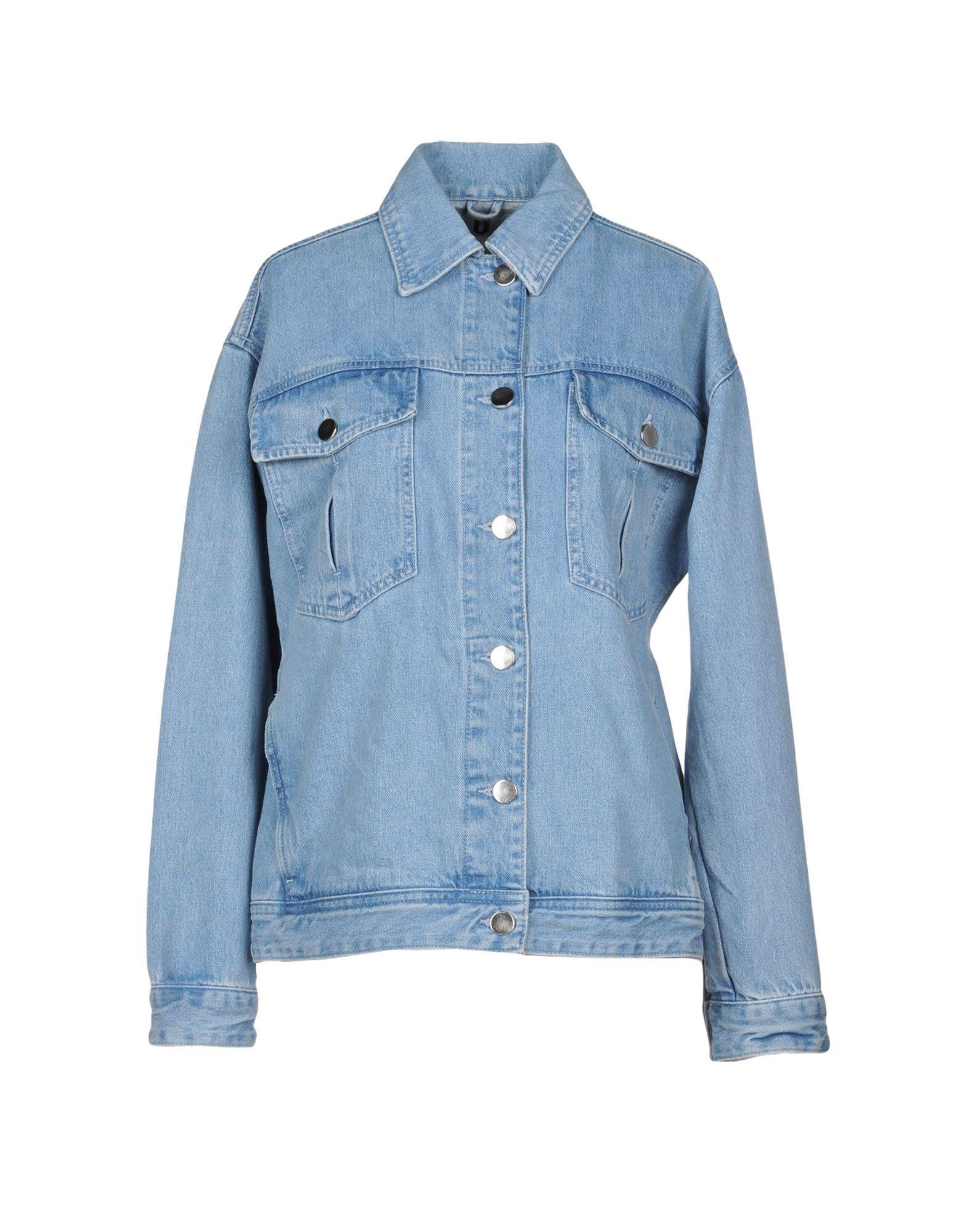TOPSHOP UNIQUE Джинсовая верхняя одежда topshop unique джинсовая верхняя одежда