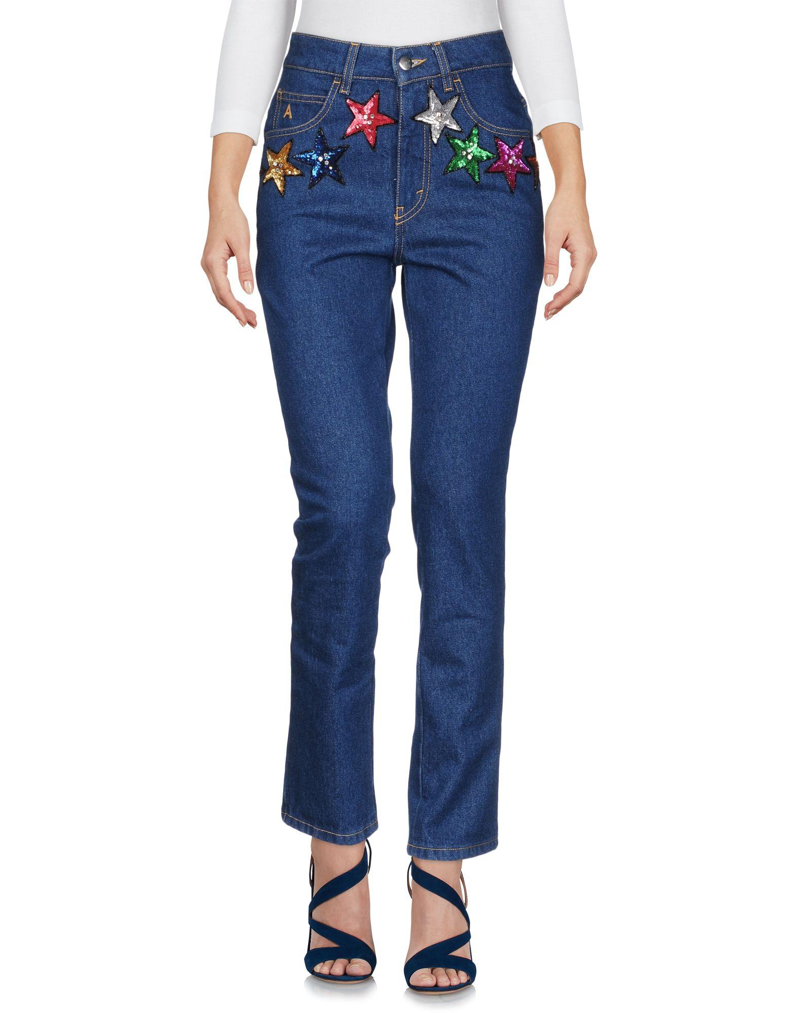 все цены на ATTICO Джинсовые брюки онлайн