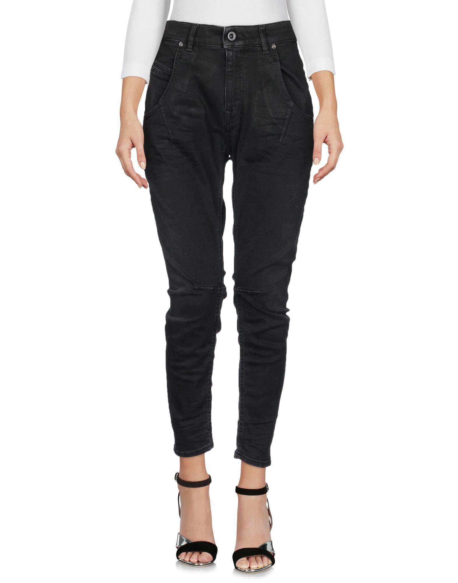 купить DIESEL BLACK GOLD Джинсовые брюки-капри дешево