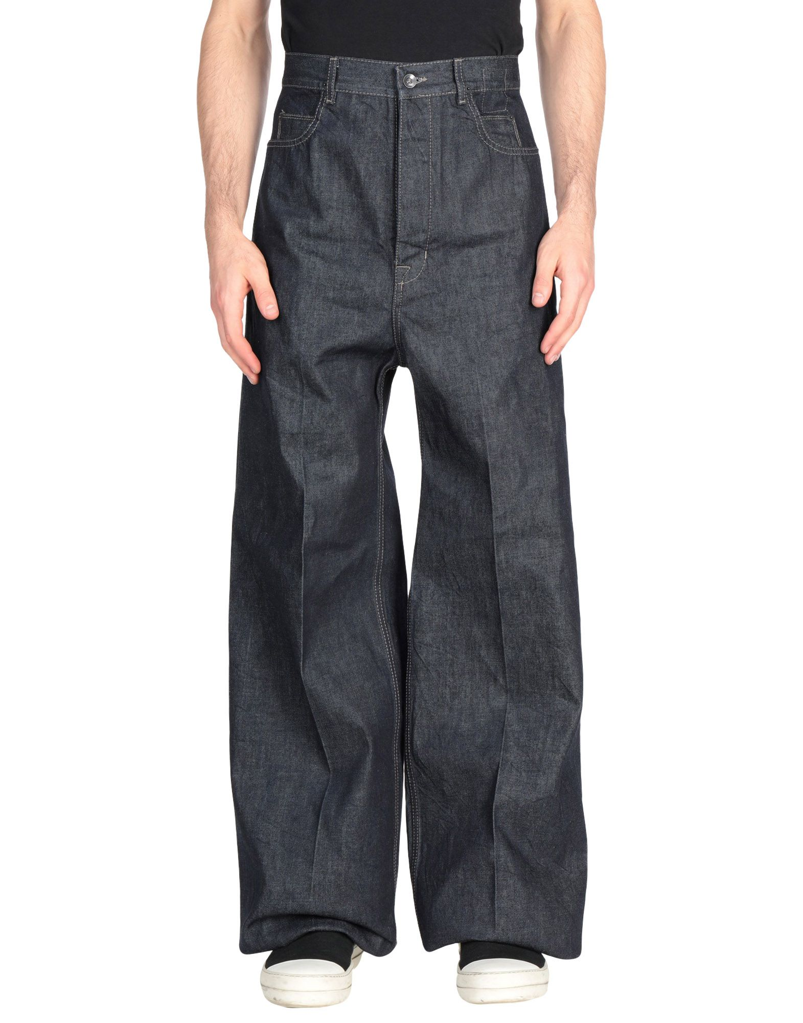 DRKSHDW by RICK OWENS Джинсовые брюки блузка quelle rick cardona by heine 4025