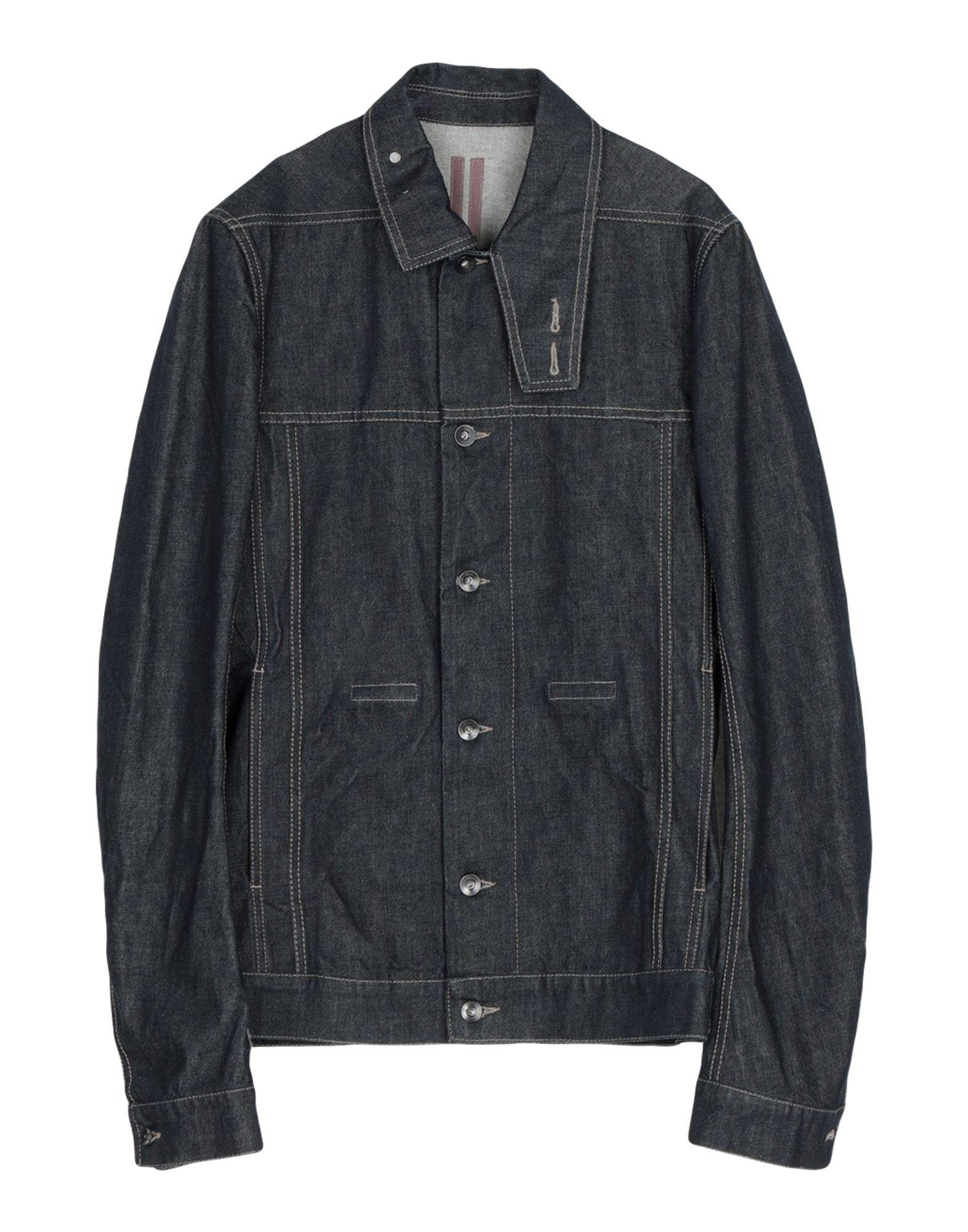 DRKSHDW by RICK OWENS Джинсовая верхняя одежда блузка quelle rick cardona by heine 4025