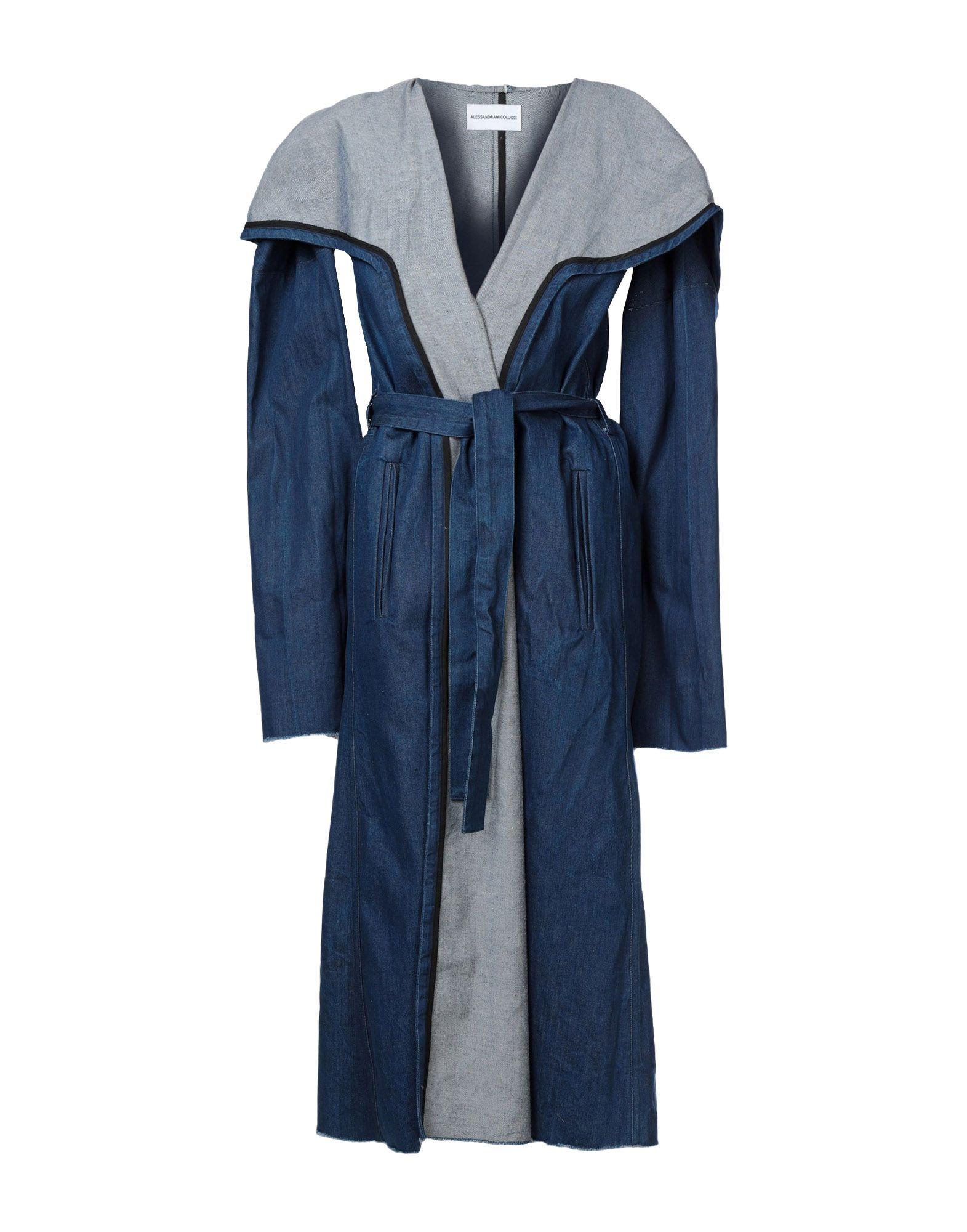 ALESSANDRAMICOLUCCI Джинсовая верхняя одежда брендовая одежда