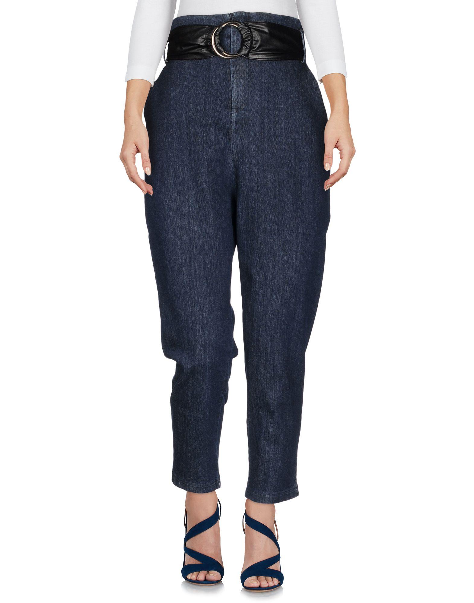 MICHELA MII Джинсовые брюки fiveunits джинсовые брюки