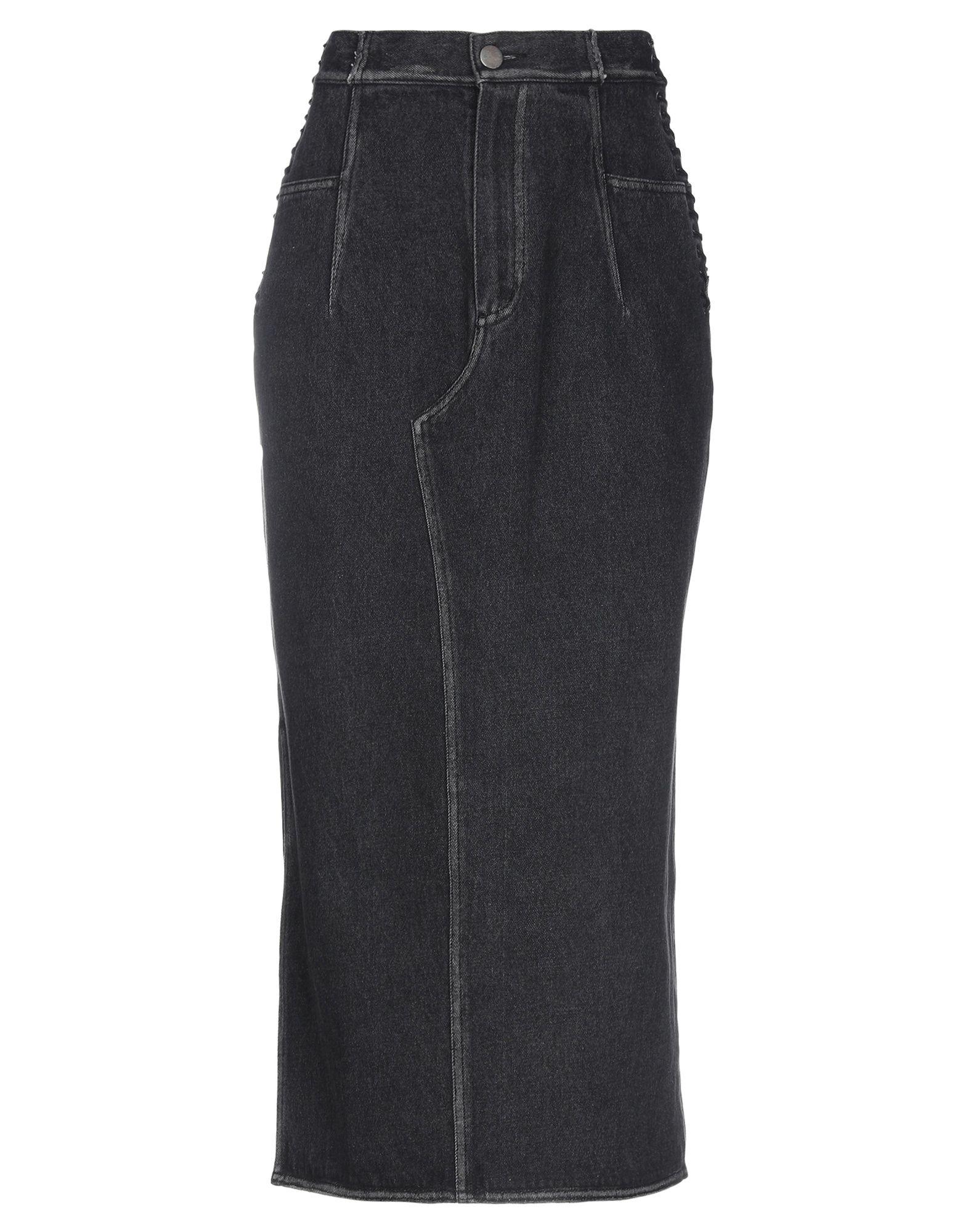3.1 PHILLIP LIM Джинсовая юбка 3 1 phillip lim мюлес и сабо