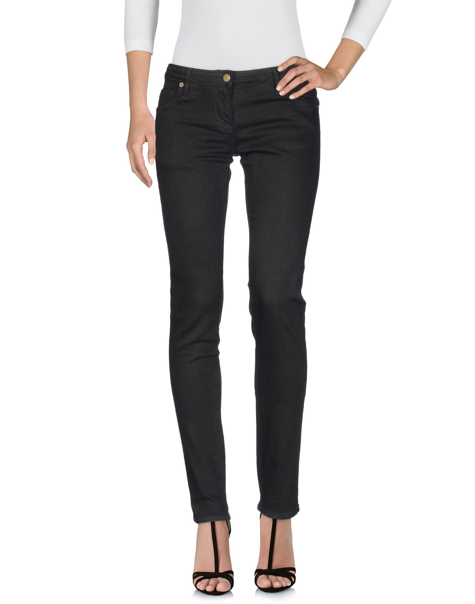 SASS & BIDE Denim Pants in Black