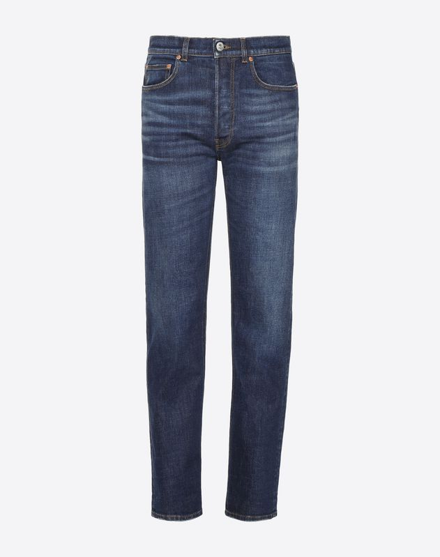 5 Pocket Straight Fit Jeans