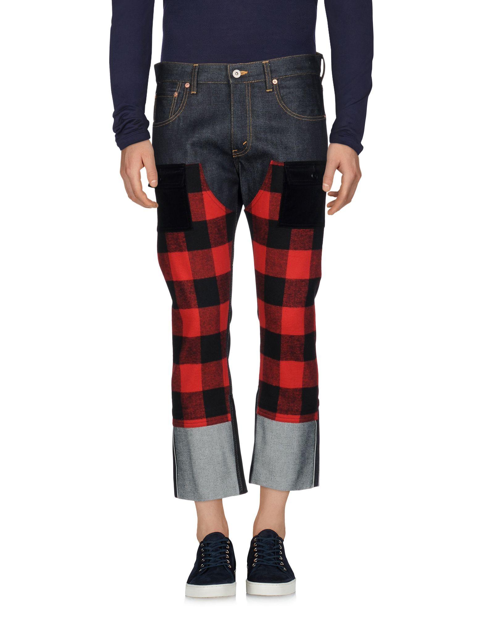 JUNYA WATANABE COMME des GARÇONS MAN X LEVI'S Джинсовые брюки