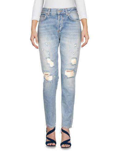 Фото - Джинсовые брюки от BLUE DE BLEU синего цвета