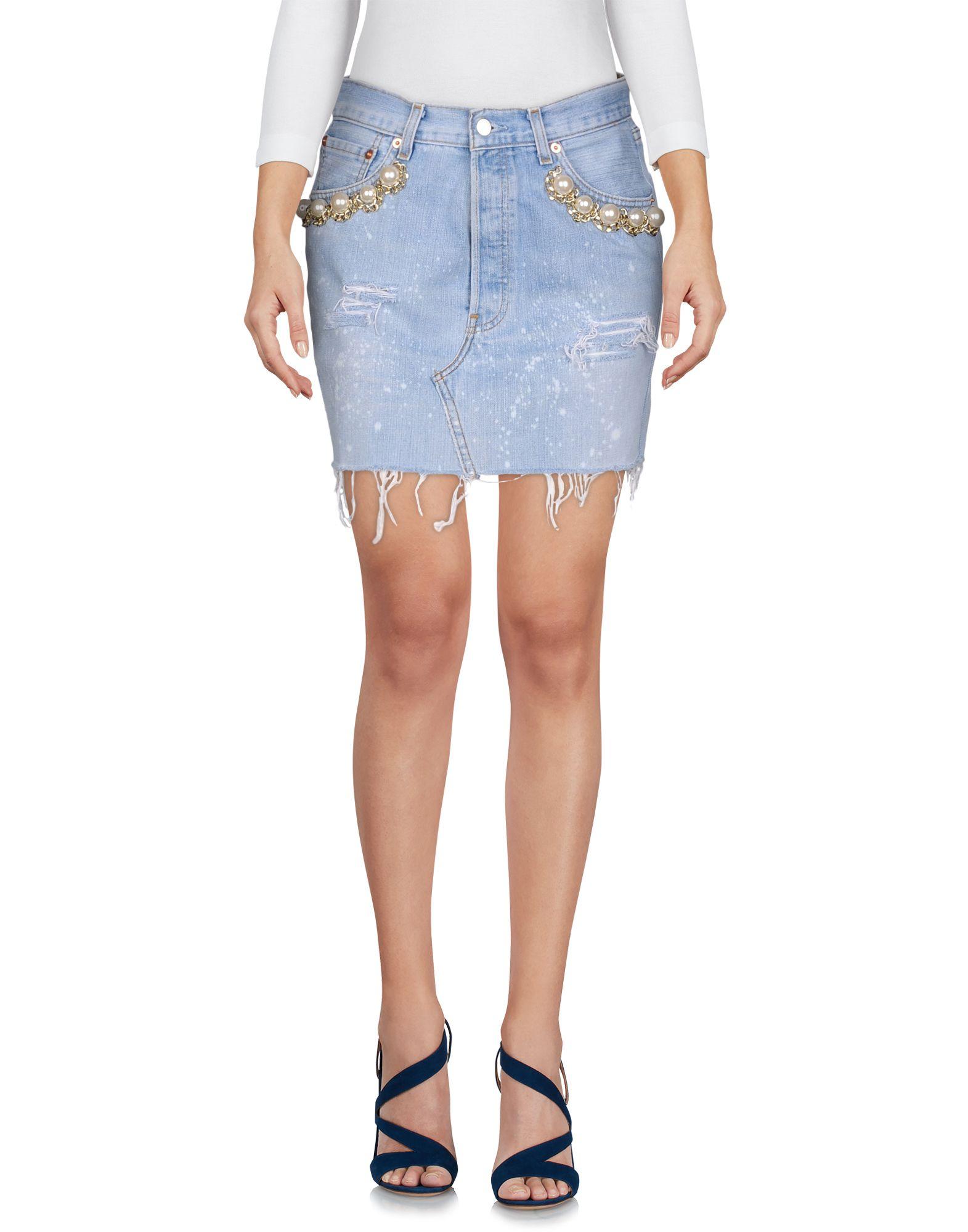 FORTE DEI MARMI COUTURE Джинсовая юбка forte dei marmi couture джинсовая рубашка