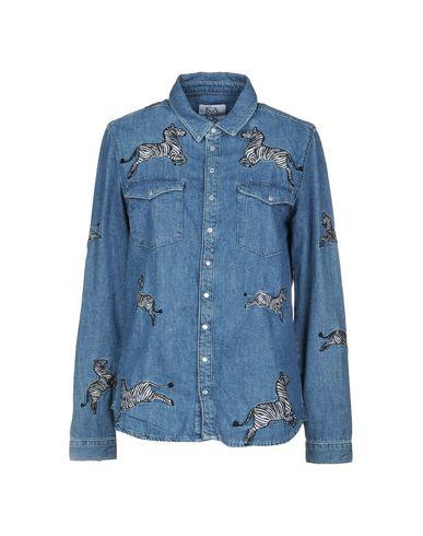 ZOE KARSSEN レディース デニムシャツ ブルー XS コットン 100%