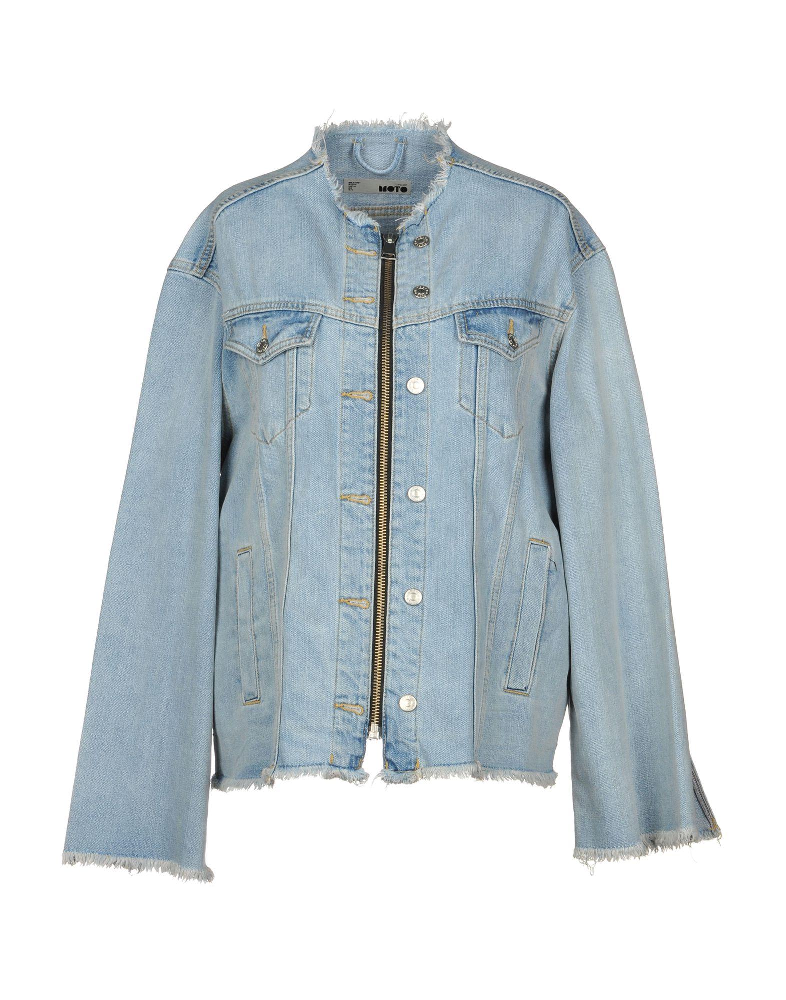 TOPSHOP Джинсовая верхняя одежда topshop unique джинсовая верхняя одежда