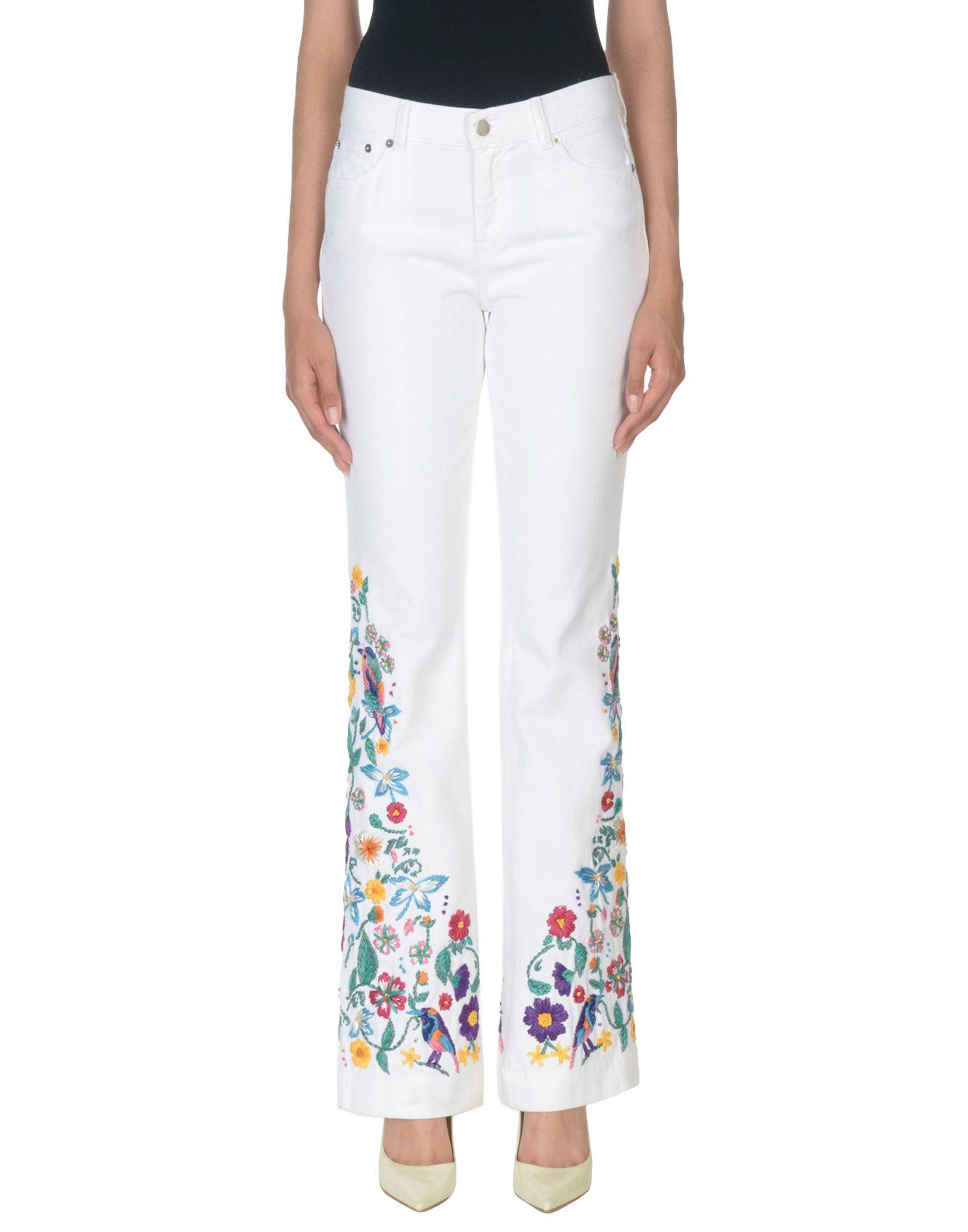 где купить ZUHAIR MURAD Джинсовые брюки по лучшей цене