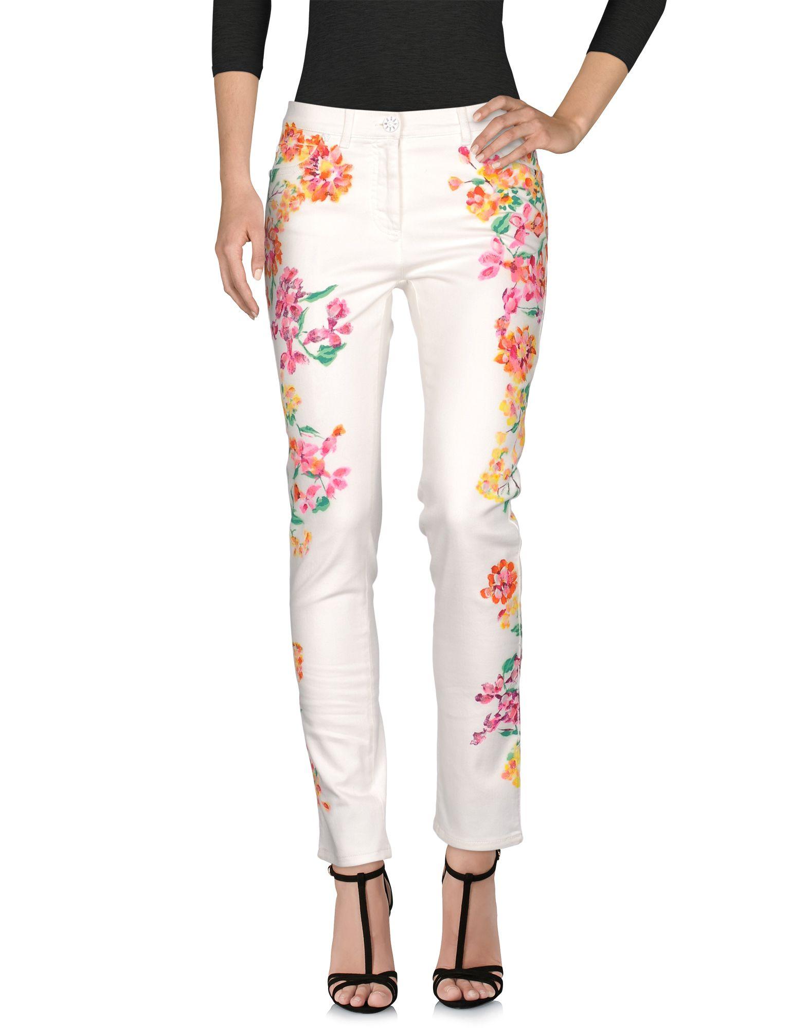 VERSACE Джинсовые брюки fiveunits джинсовые брюки