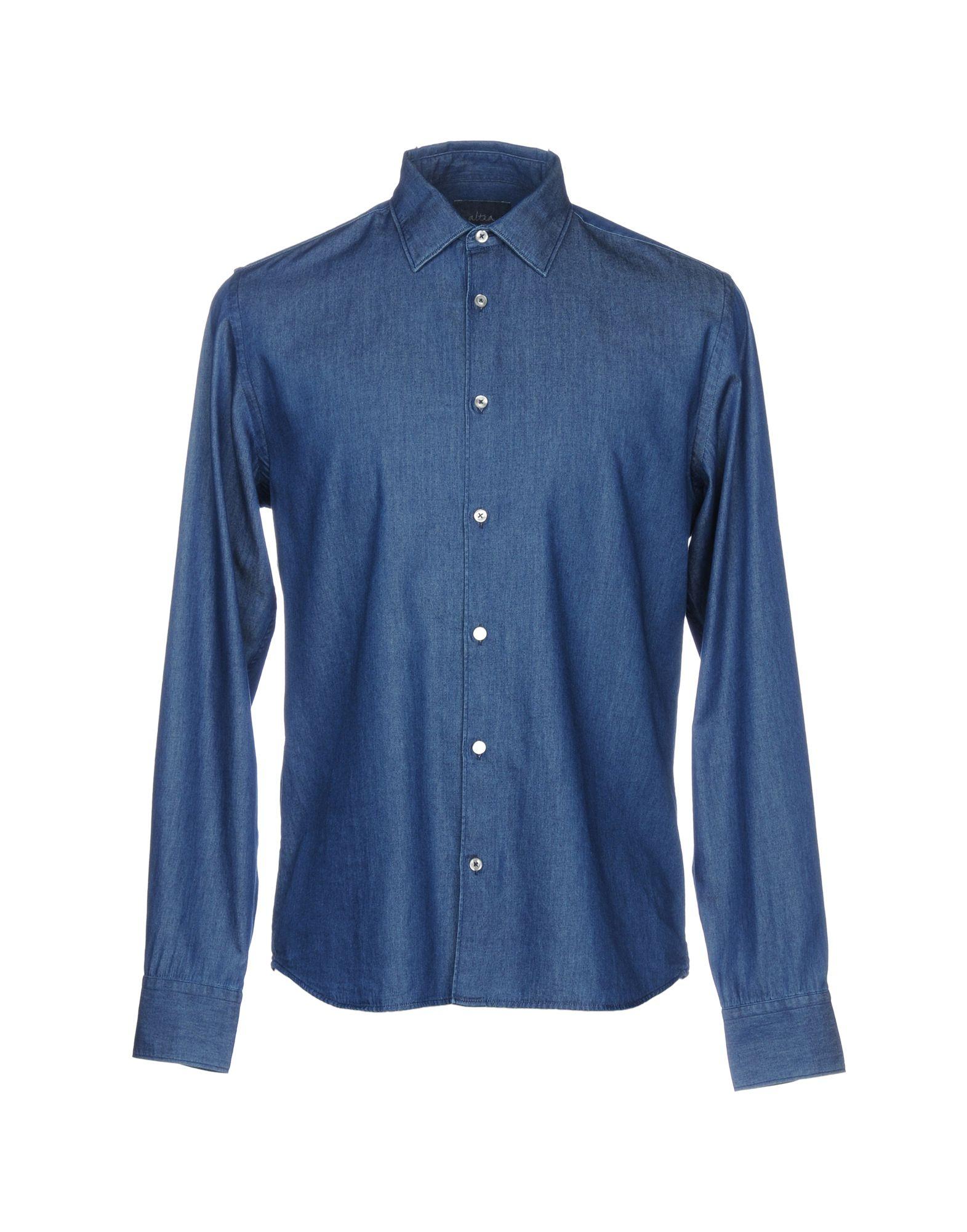 ALTEA Джинсовая рубашка