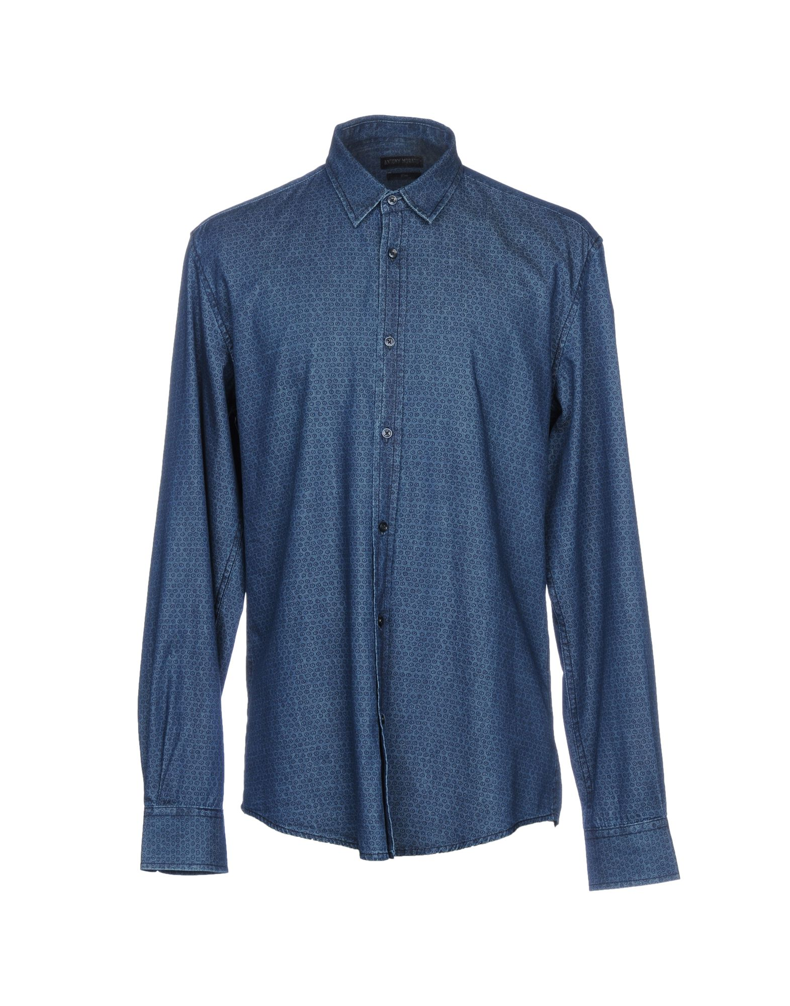 ANTONY MORATO Джинсовая рубашка футболка antony morato antony morato an511empof28