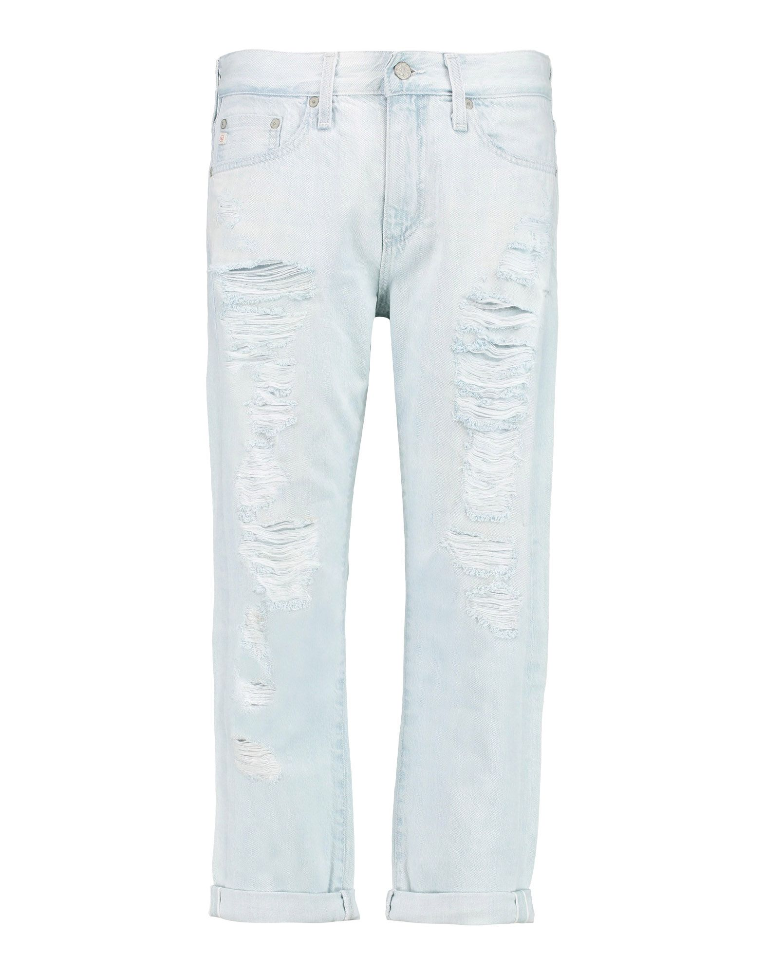 AG JEANS Джинсовые брюки summer boyfriend jeans for women hole ripped white lace flowers denim pants low waist mujer vintage skinny stretch jeans female