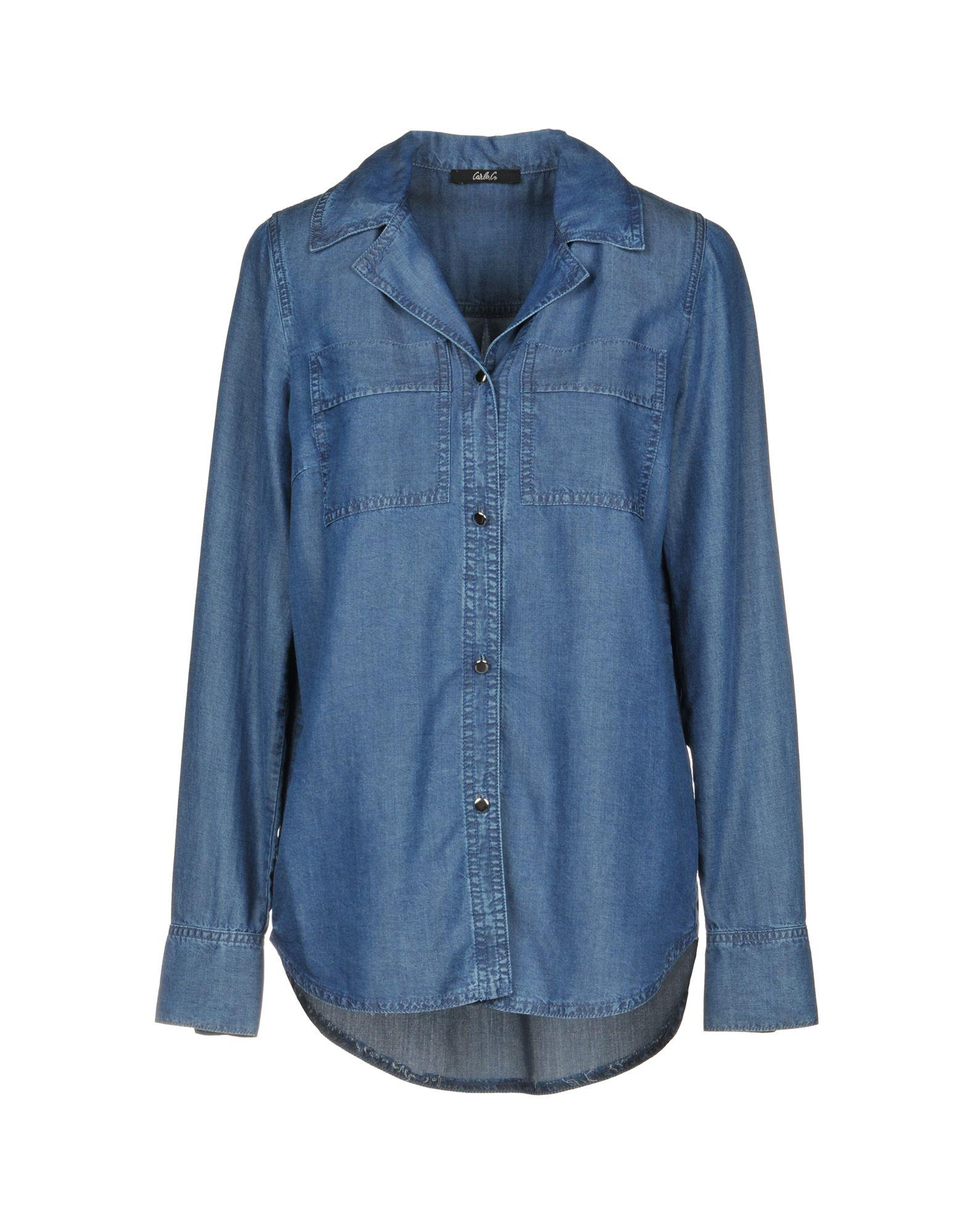 CARLA G. Джинсовая рубашка