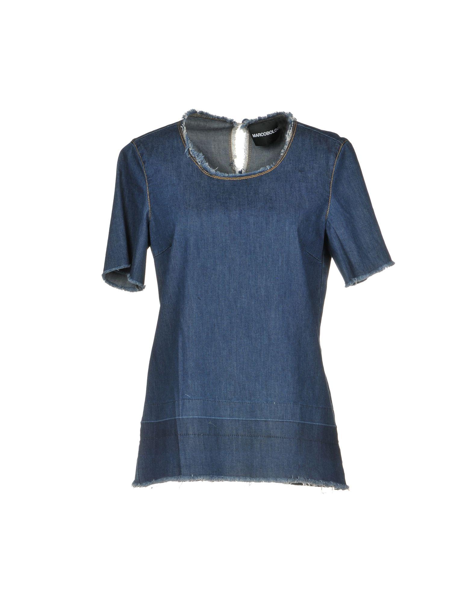 MARCO BOLOGNA Джинсовая рубашка bologna annual 2006