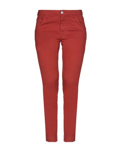 Купить Джинсовые брюки от CARLA G. ржаво-коричневого цвета