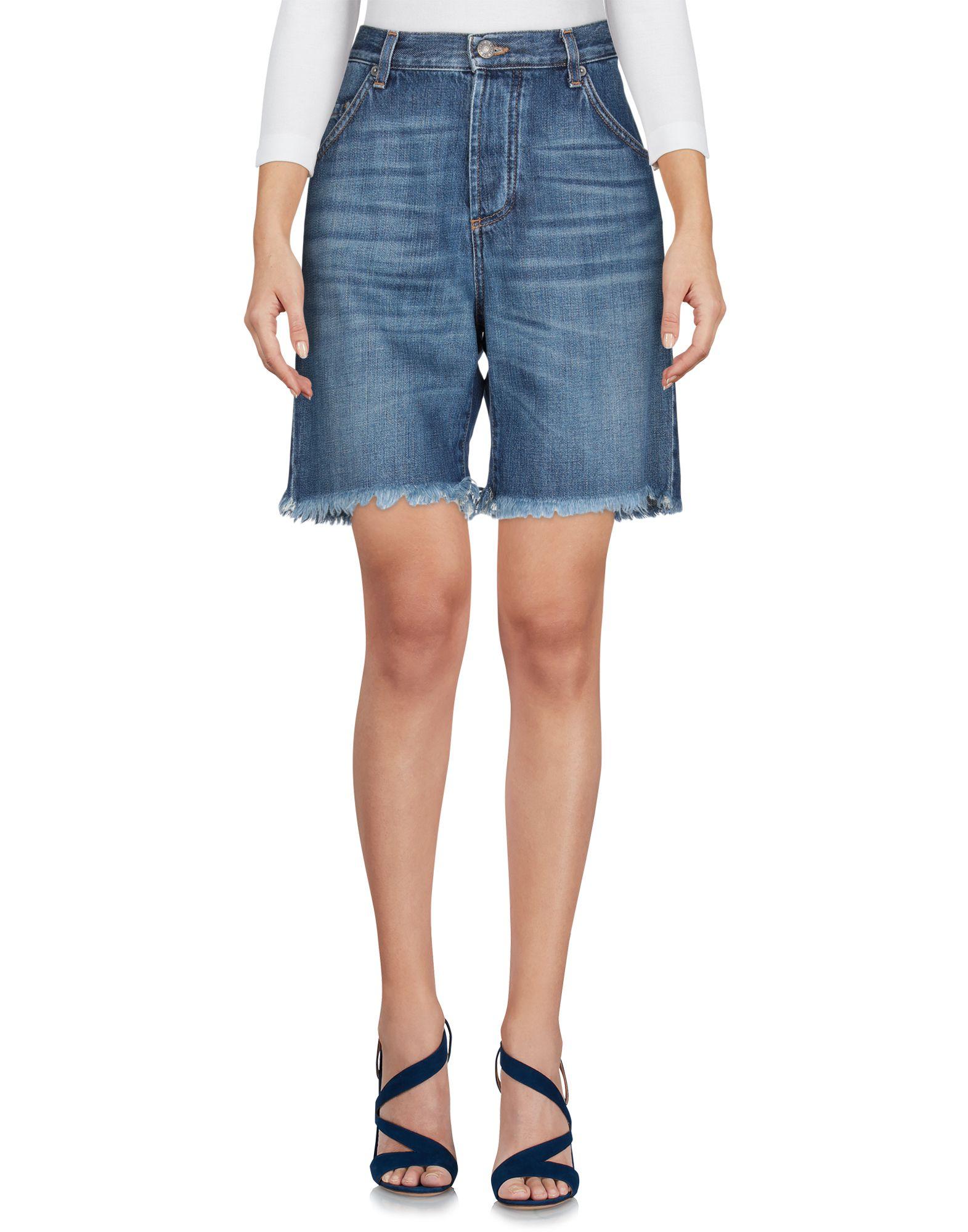 BLUE DE BLEU Джинсовые шорты blue de bleu джинсовые брюки