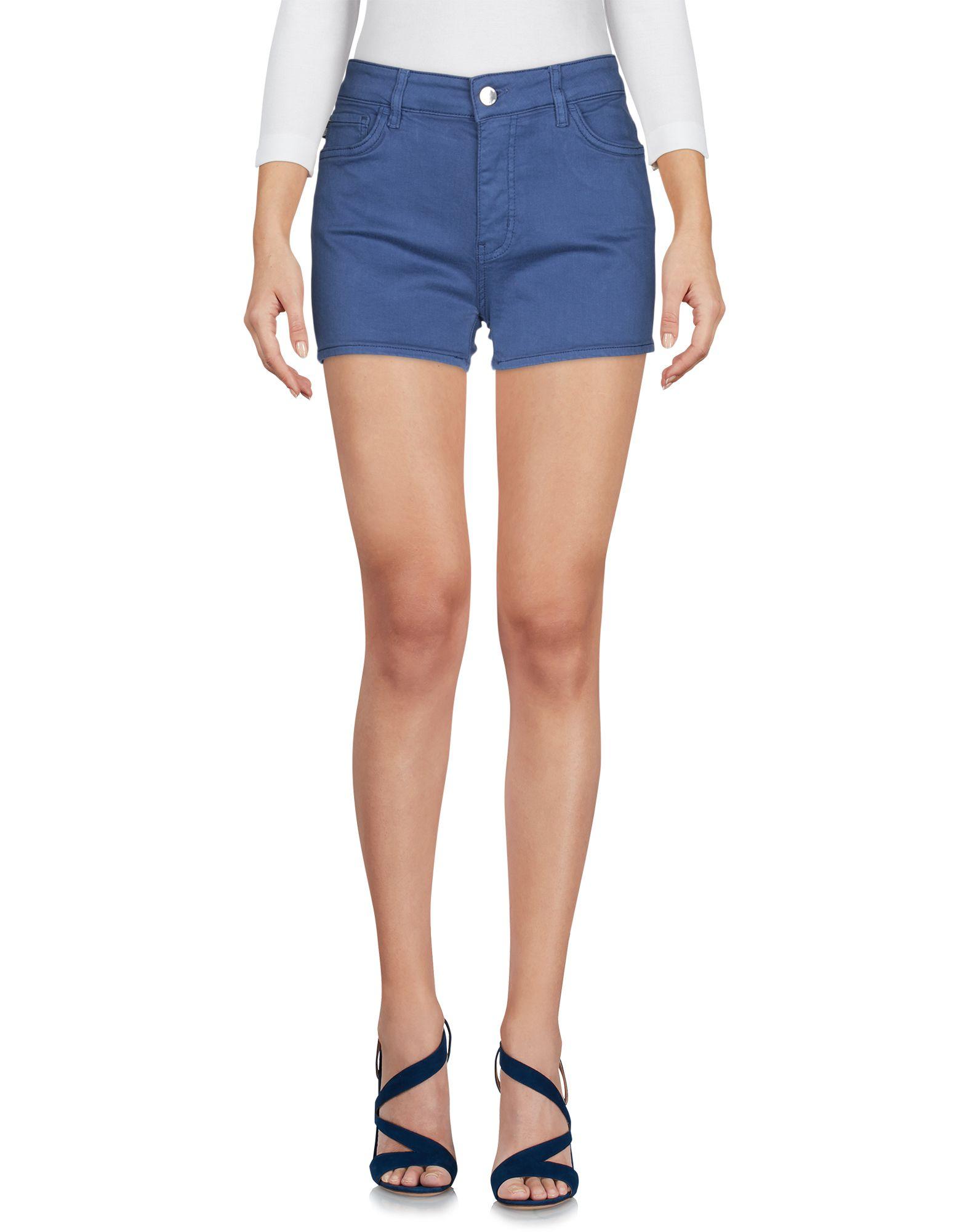 LOVE MOSCHINO Джинсовые шорты шорты джинсовые love moschino love moschino lo416ewaevk4