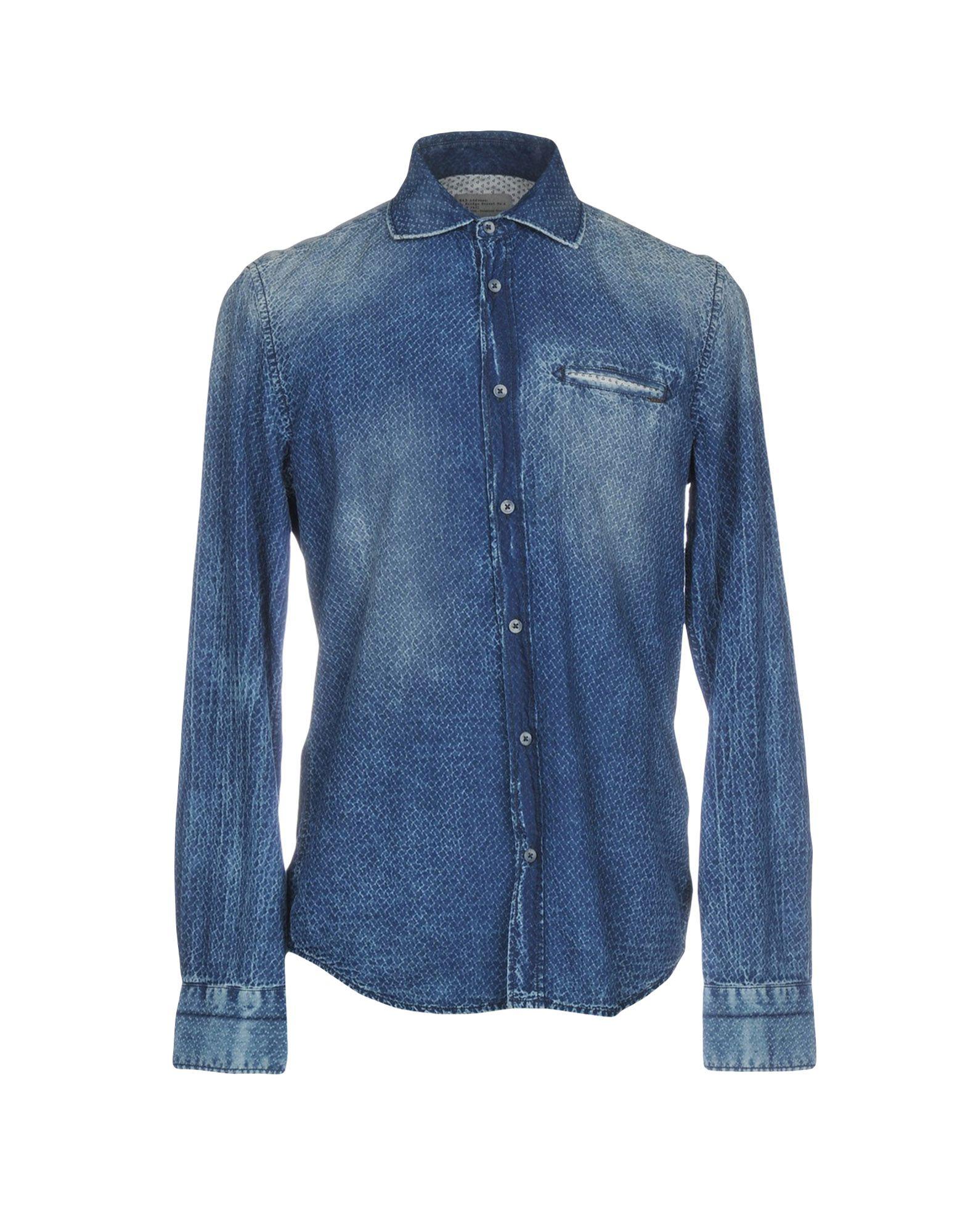 GAS Джинсовая рубашка куртка джинсовая gas gas ga340ewcari6