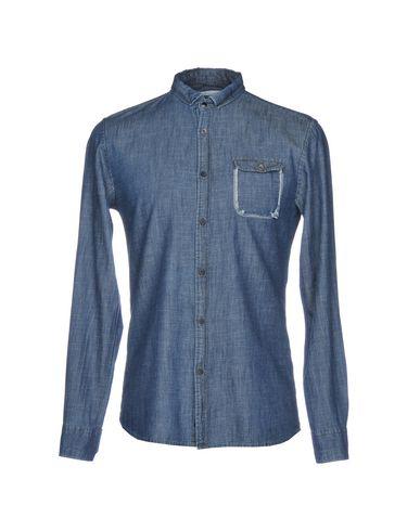 Джинсовая рубашка от BL.11  BLOCK ELEVEN