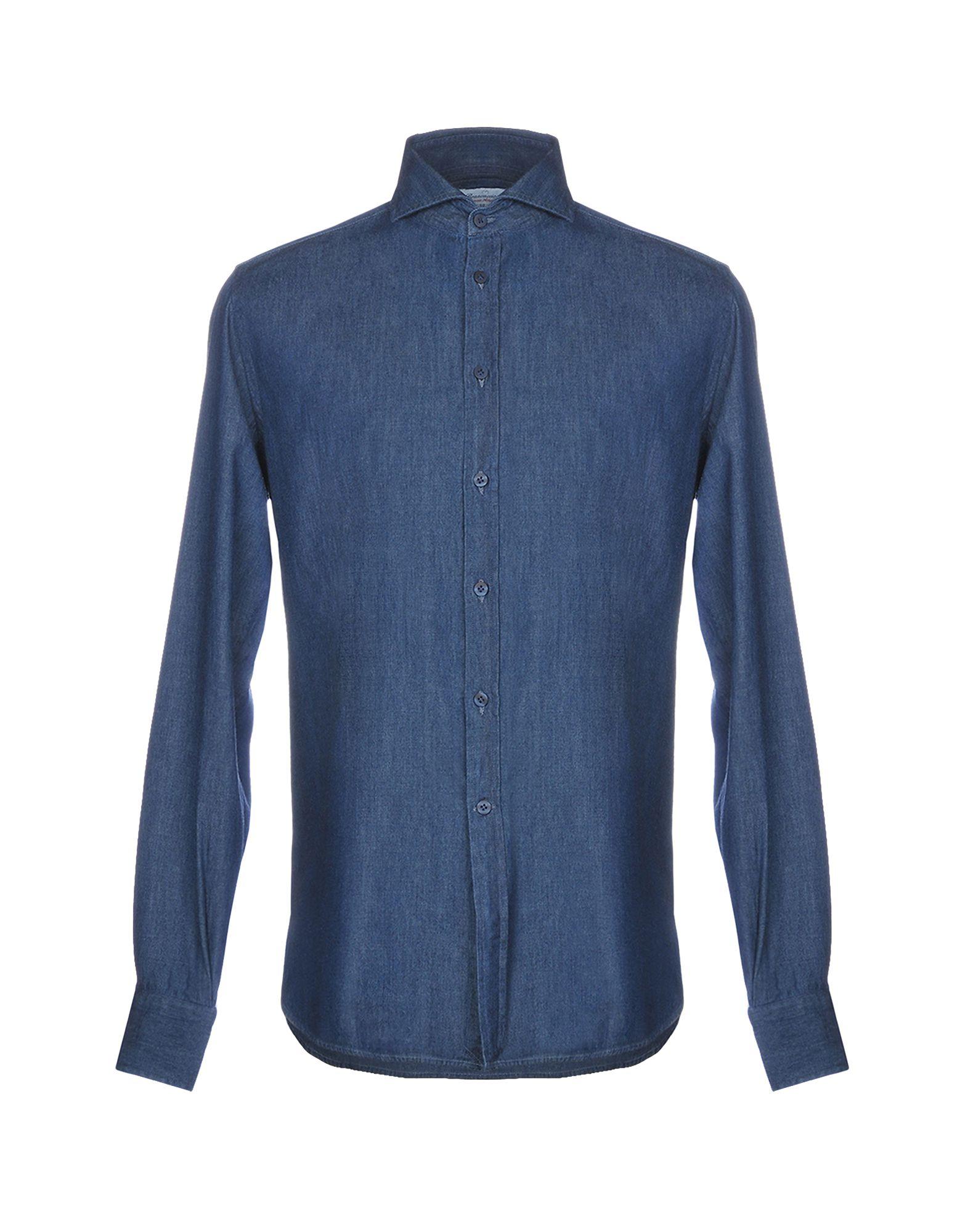 BRANCACCIO C. Джинсовая рубашка brancaccio c джинсовая рубашка