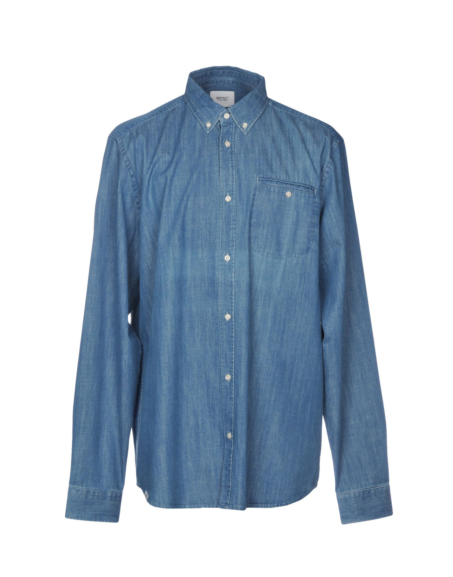 WESC Джинсовая рубашка wesc ремень