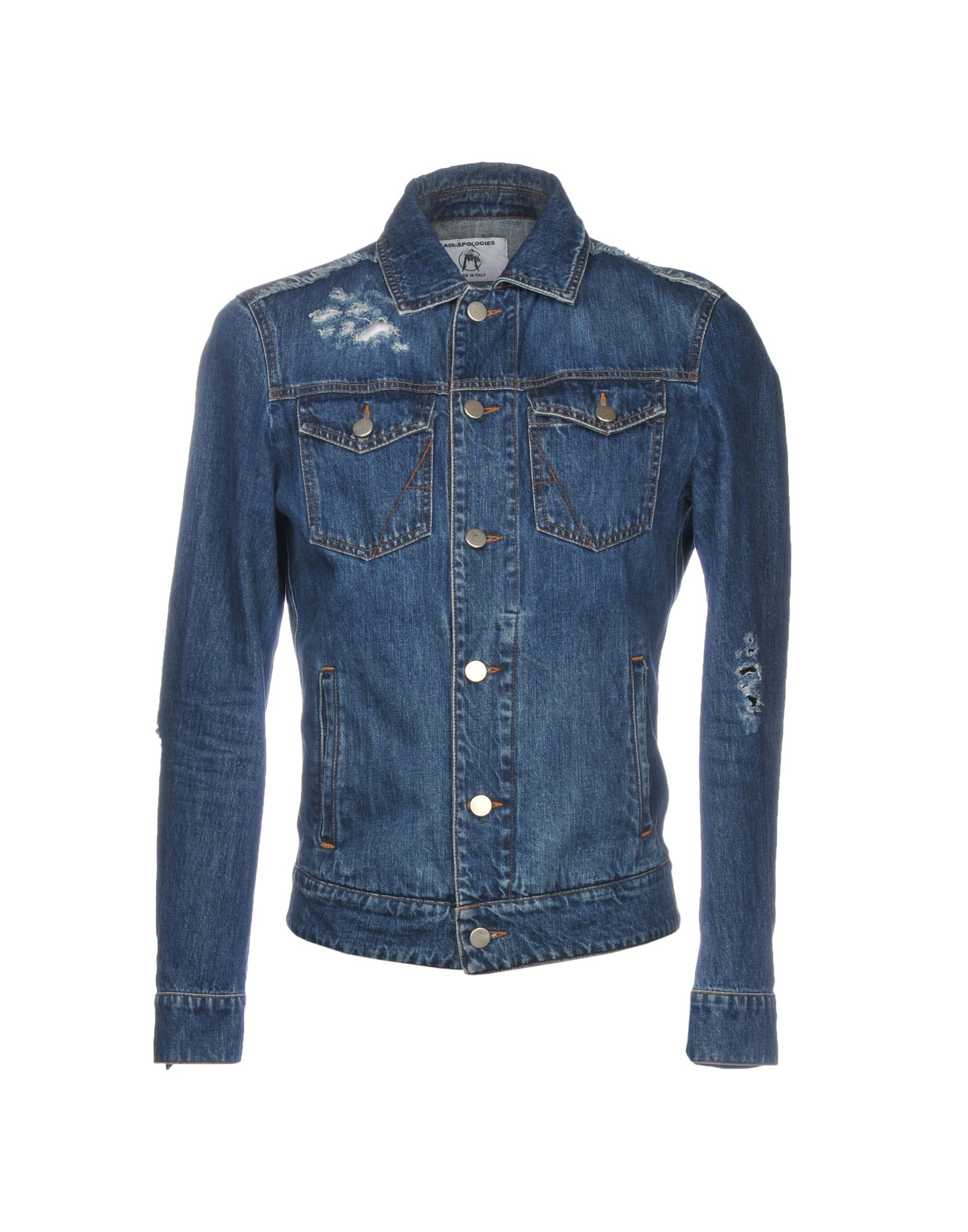 ALL APOLOGIES Denim Jacket in Blue