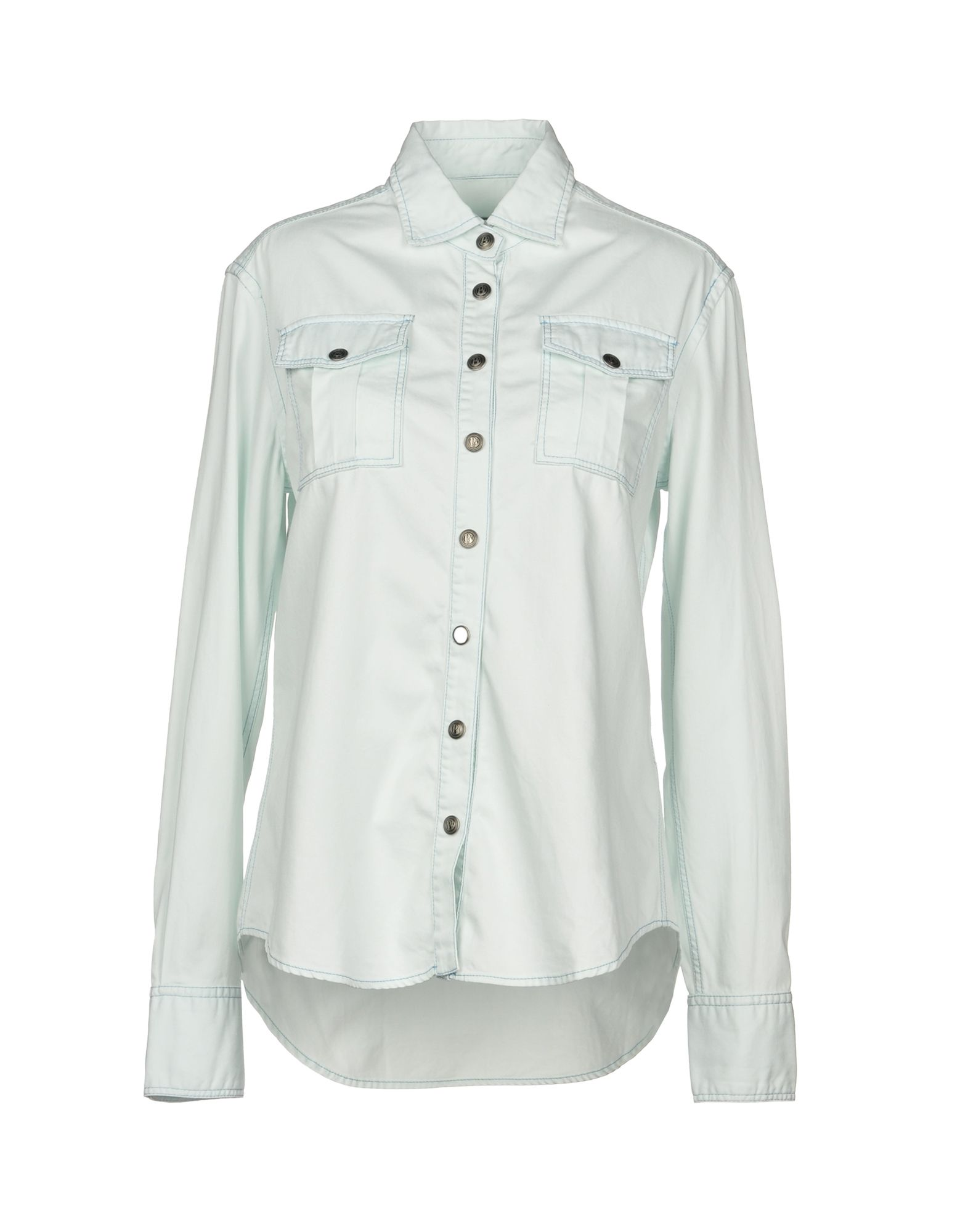 PIERRE BALMAIN Джинсовая рубашка рубашки pierre lauren рубашка