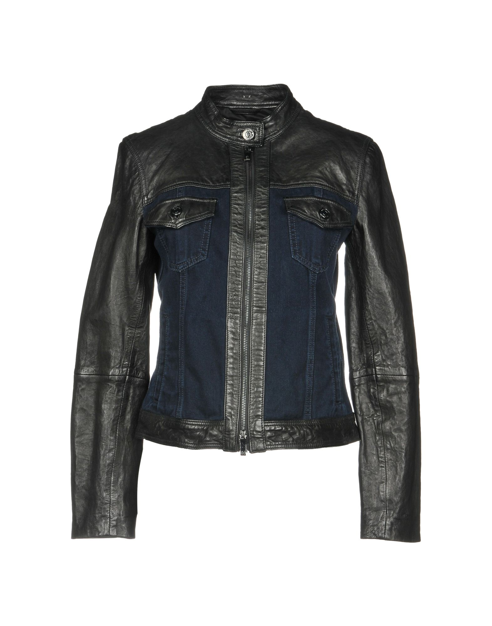 ARMANI JEANS Джинсовая верхняя одежда цена 2017