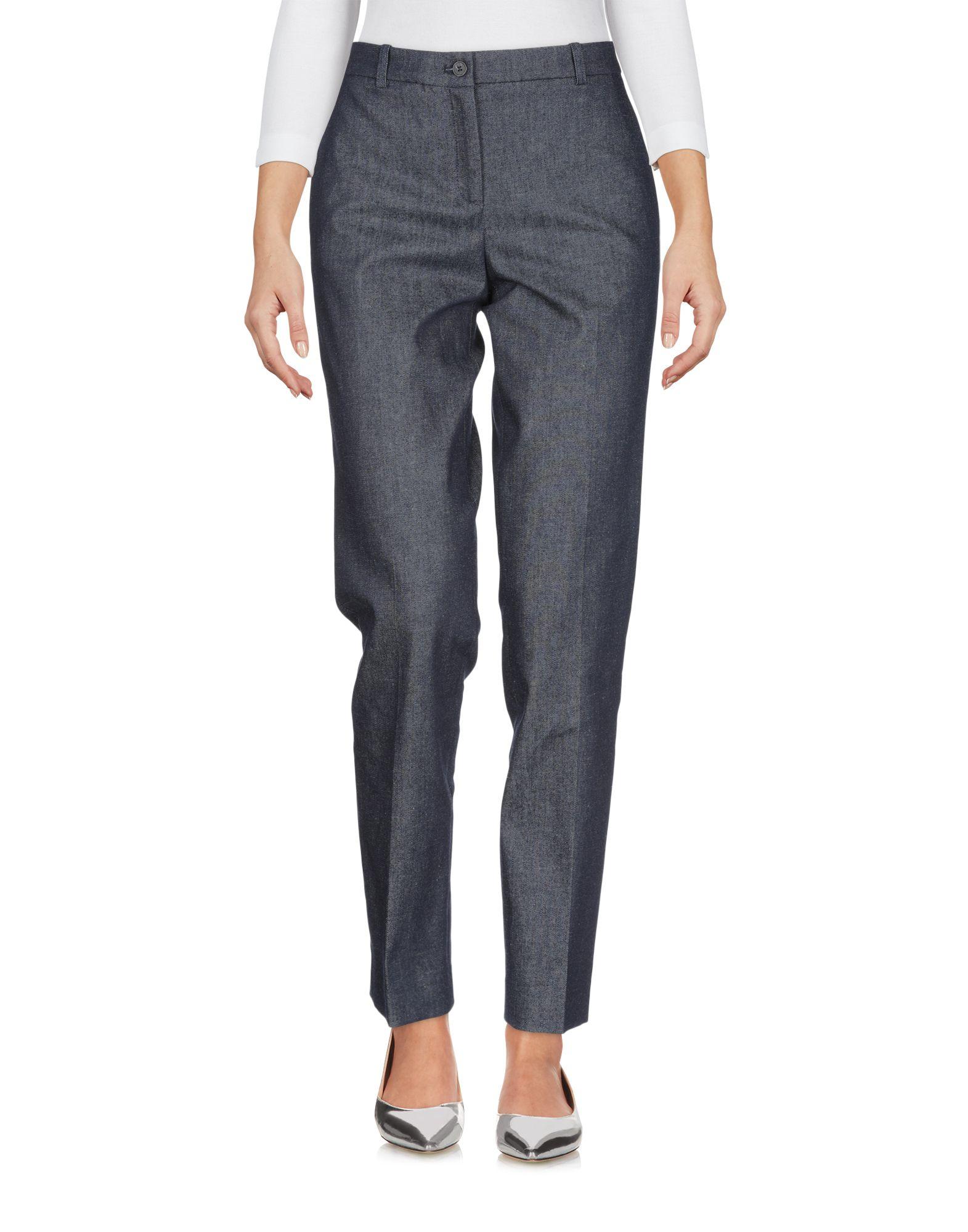 JIL SANDER NAVY Джинсовые брюки