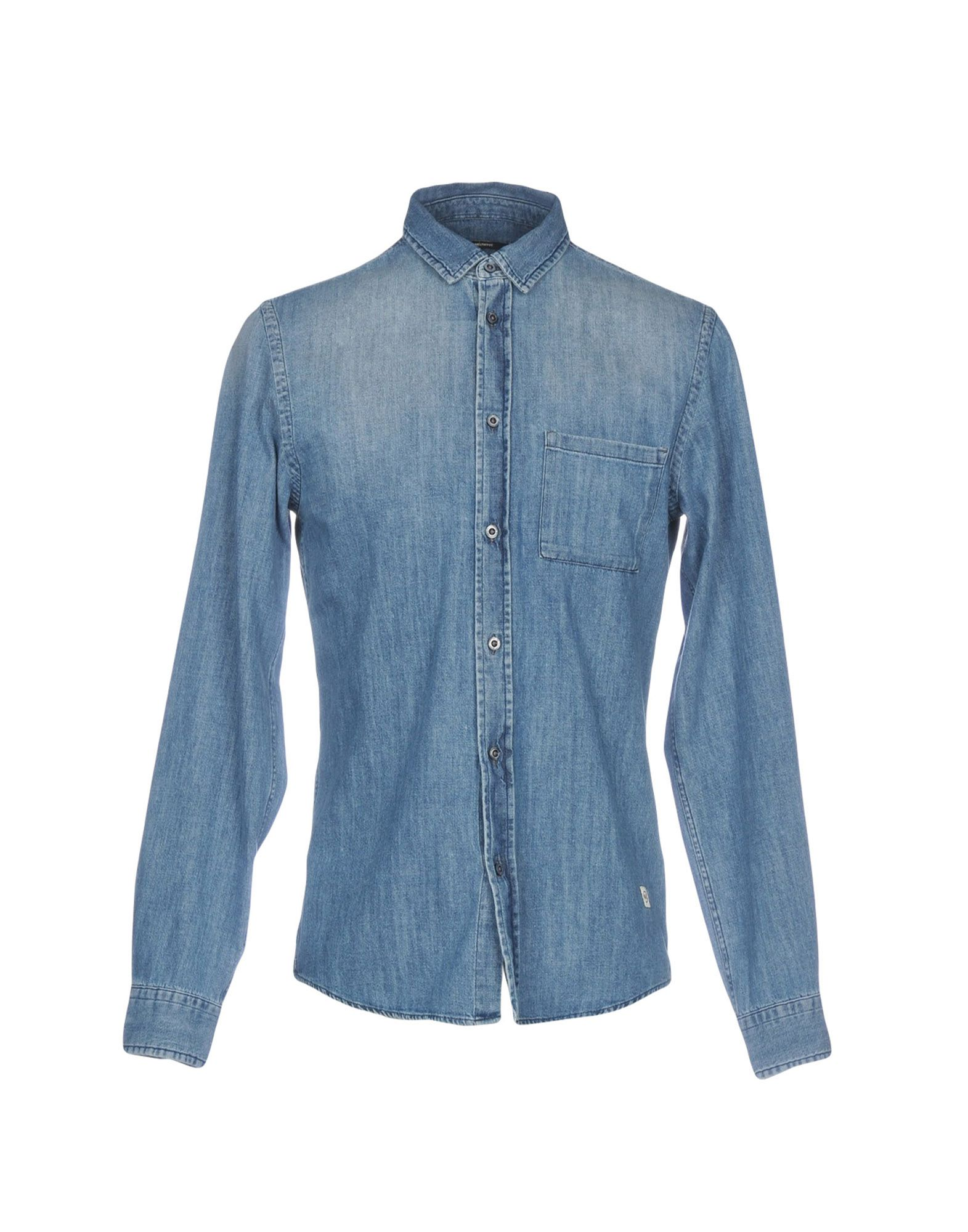 MELTIN POT Джинсовая рубашка цена 2017