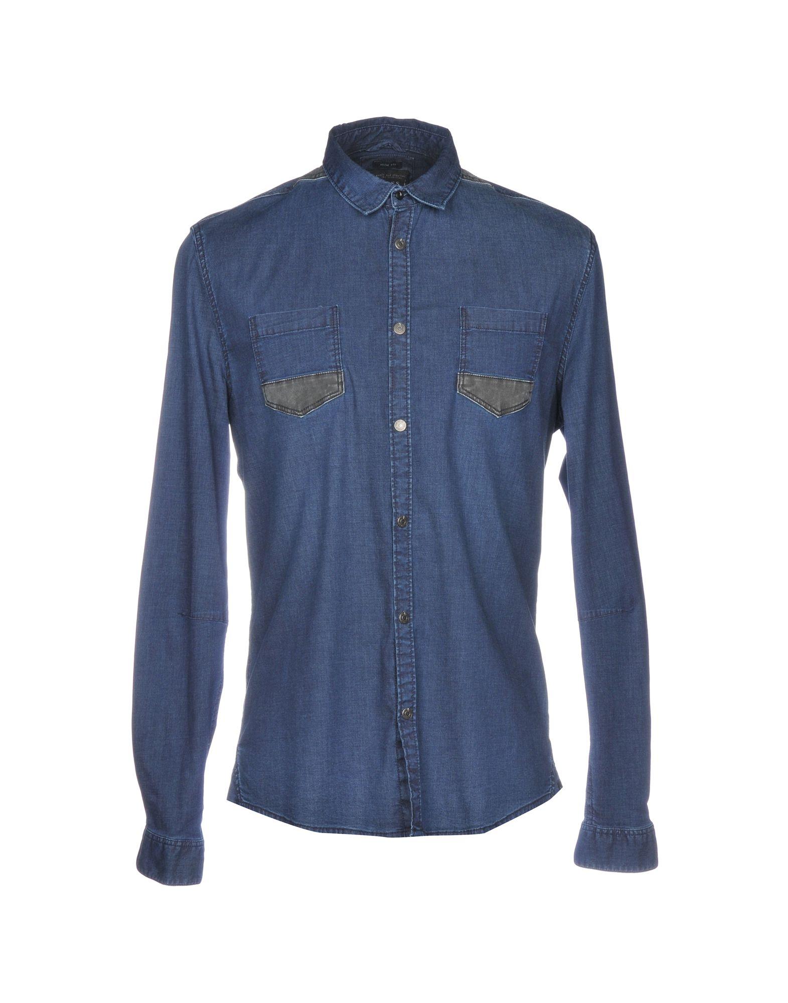 GUESS Джинсовая рубашка рубашка guess w81h01 w7zk0 a000