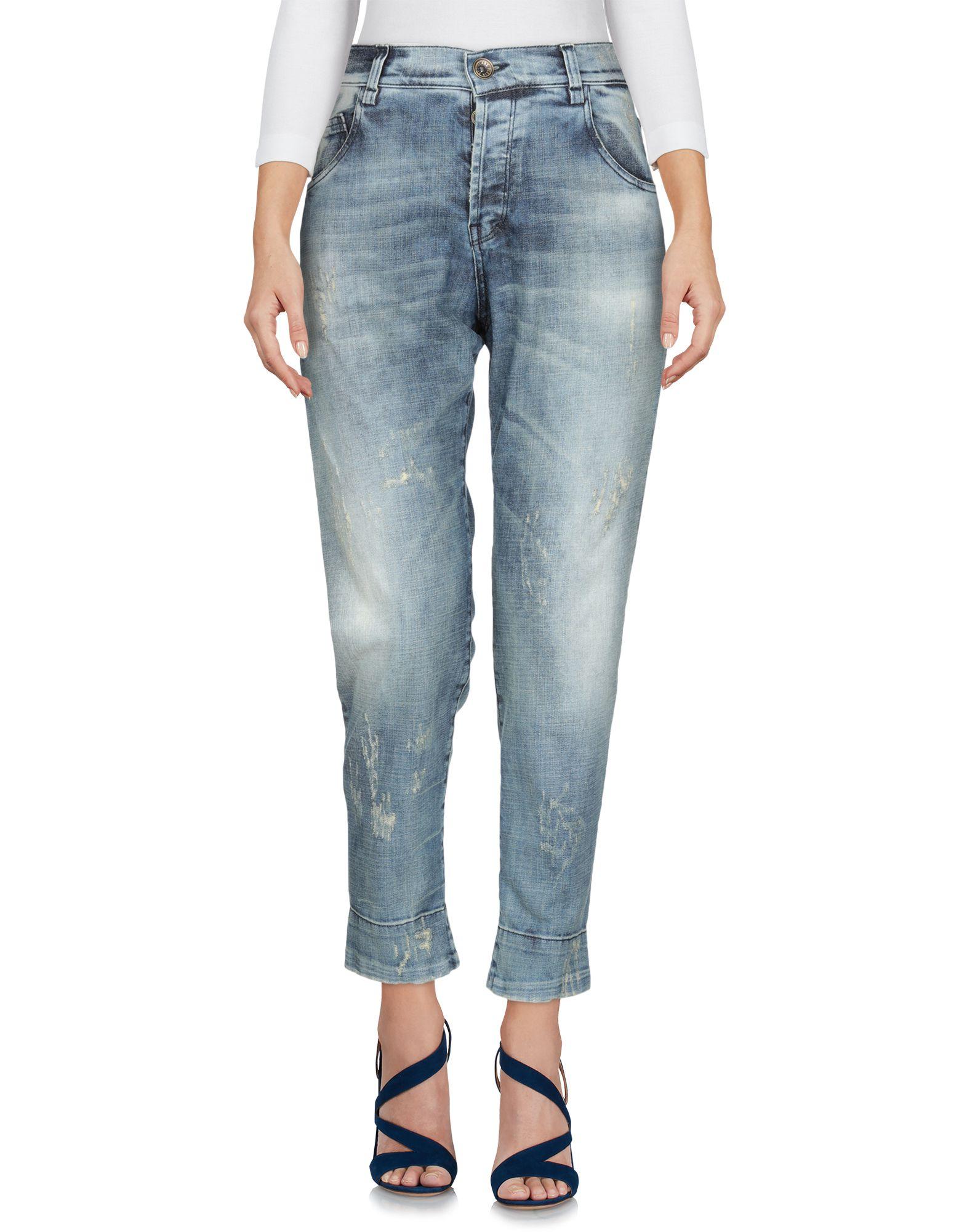 PLEIN SUD Джинсовые брюки-капри цена 2017