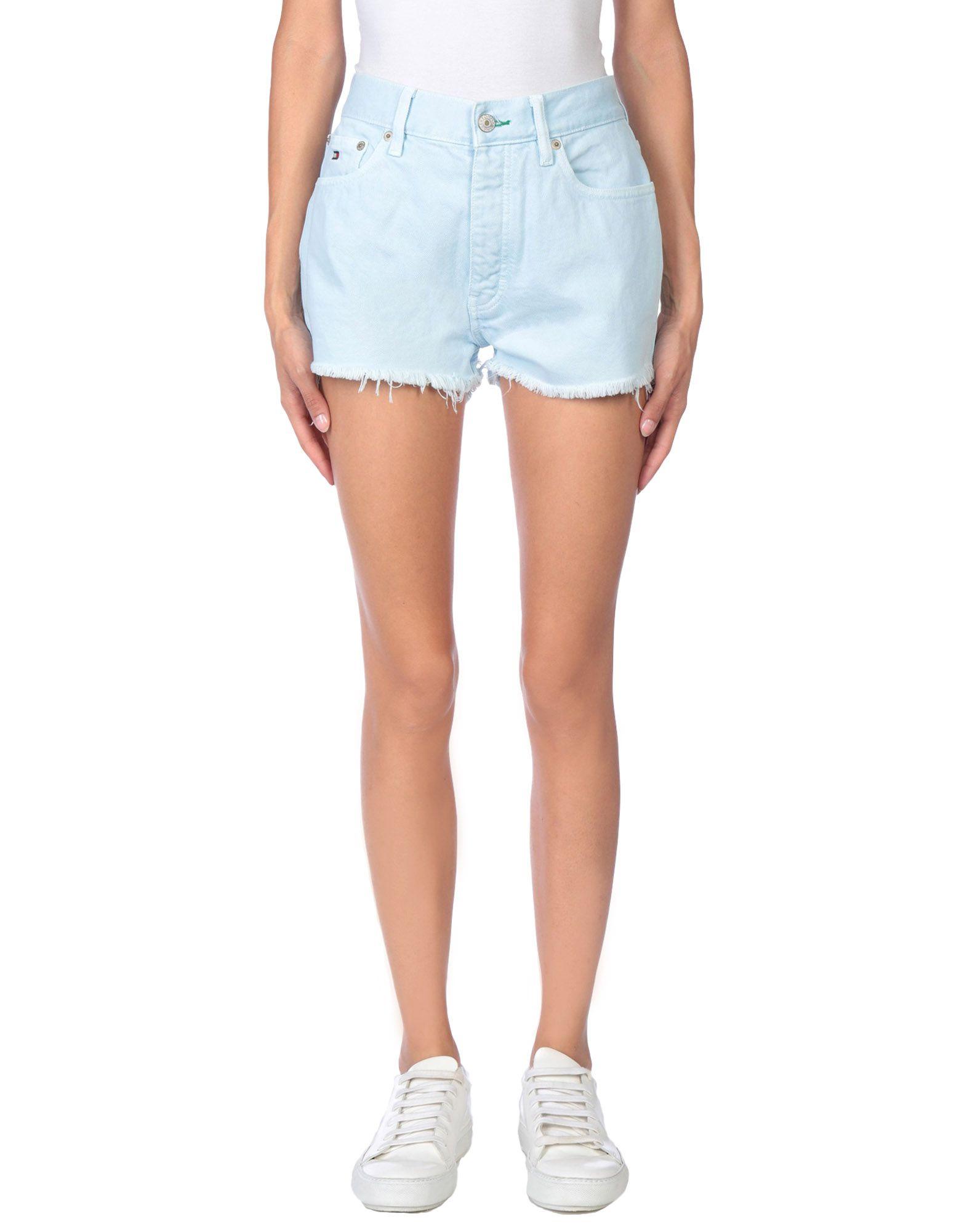 TOMMY JEANS Джинсовые шорты superfine джинсовые шорты